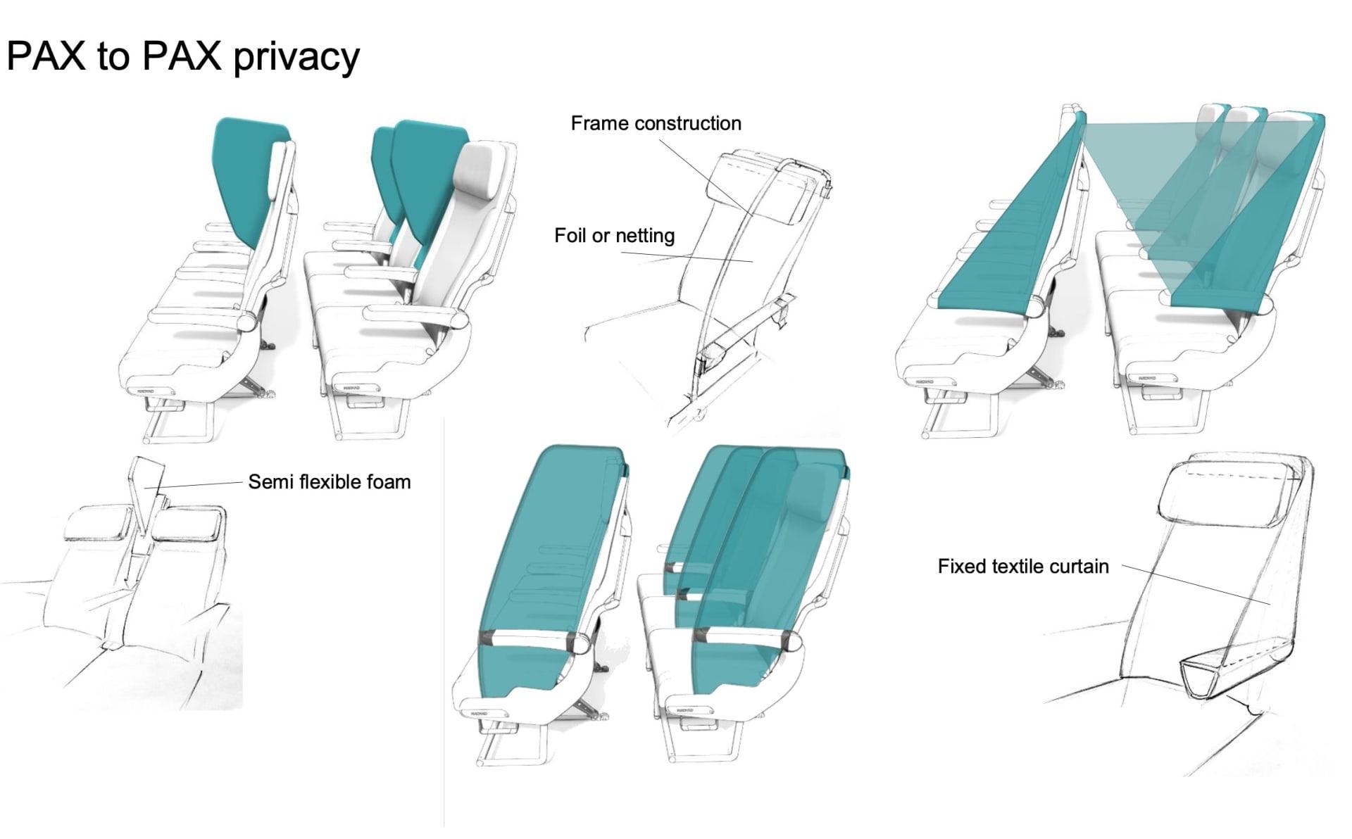 """هل ستشهد مقاعد الطائرات تغيرات جوهرية خلال حقبة """"كوفيد-19""""؟"""