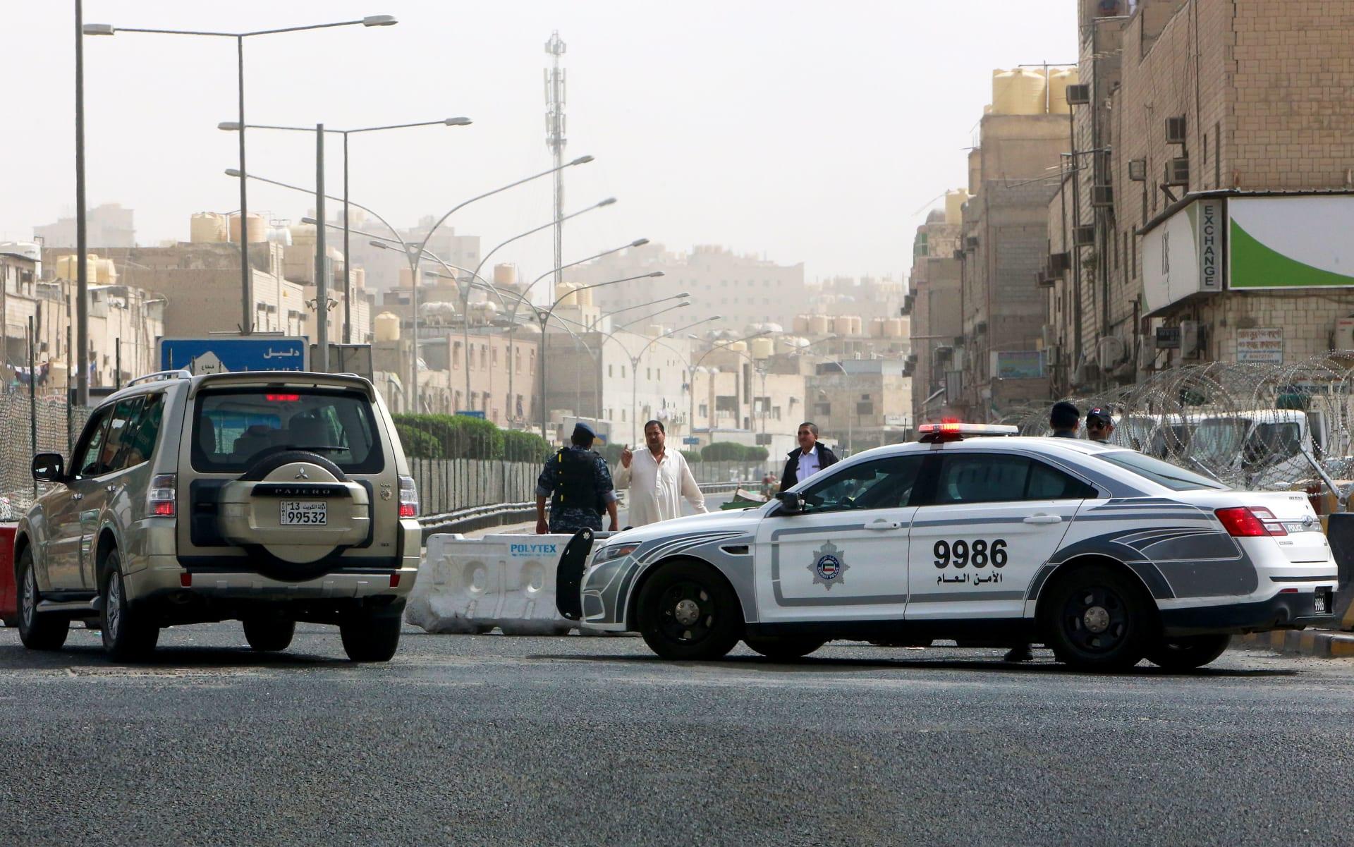 صورة أرشيفية لسيارة شرطة في الكويت