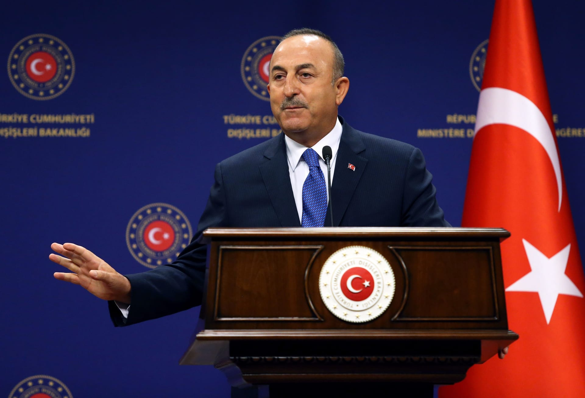 مولود جاويش اوغلو وزير خارجية تركيا