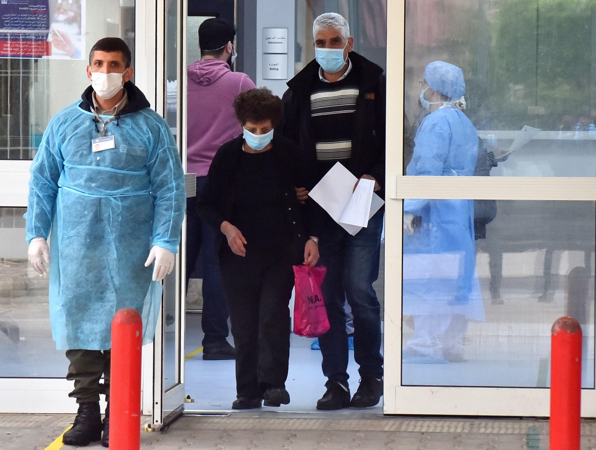 لبنان يسجل أعلى معدل يومي لإصابات فيروس كورونا