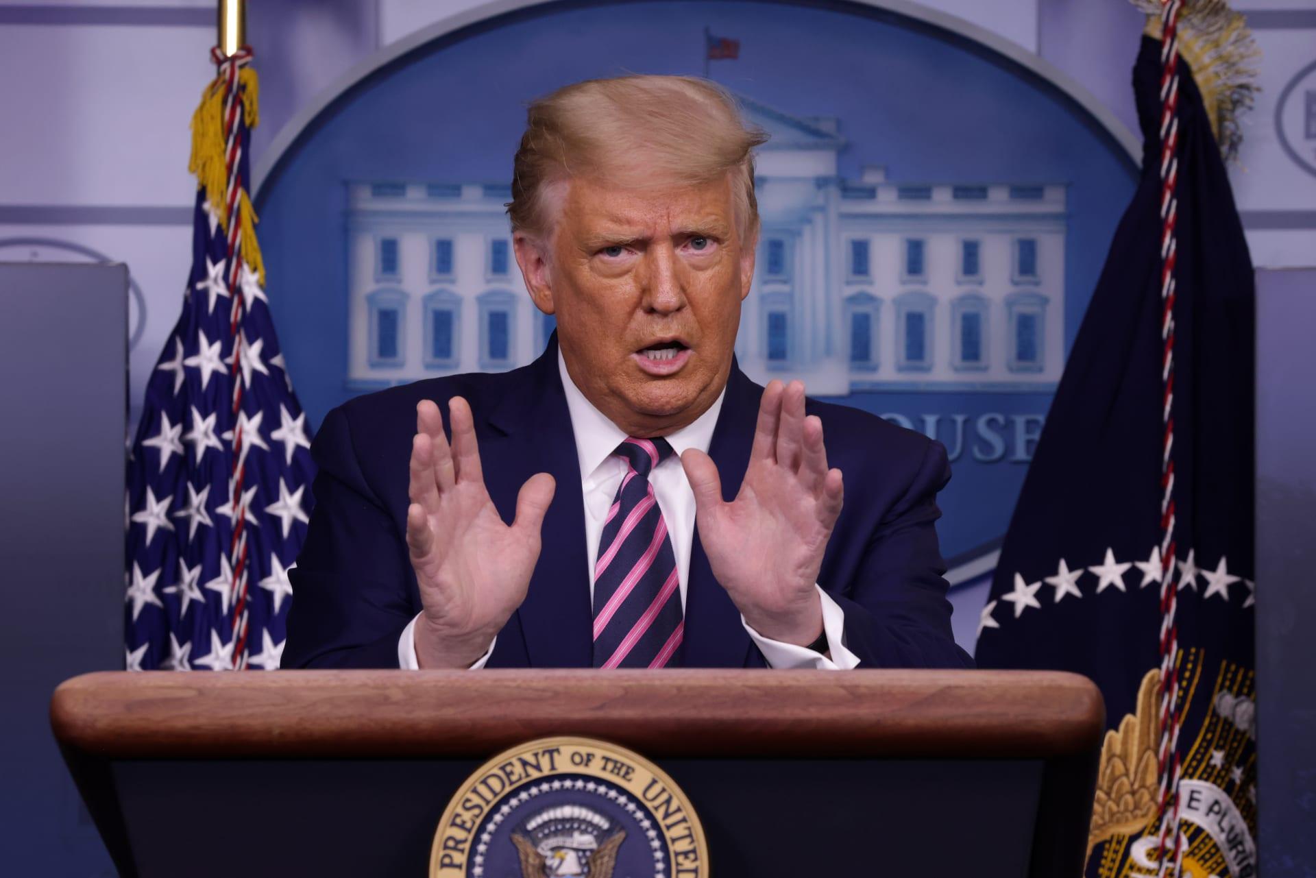 اعتراض طرد مُرسل لترامب في البيت الأبيض كان يحوي مادة شديدة السُمية