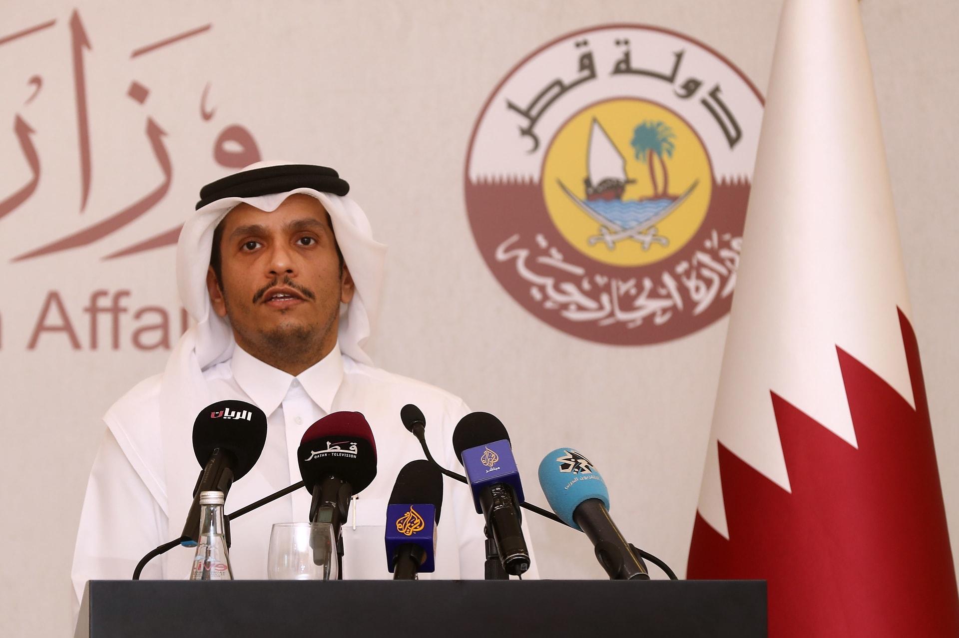 """قطر: """"حملات مضللة"""" تحاول """"تشويه صورتنا"""" على حساب الشعب الفلسطيني"""