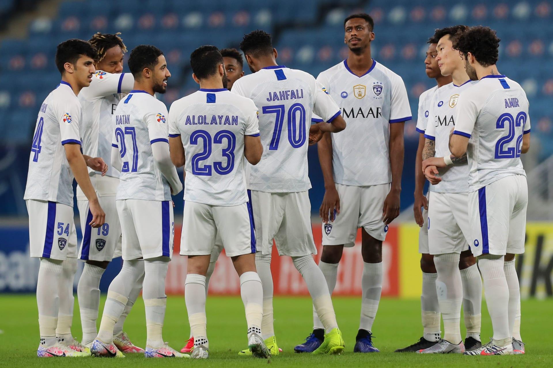 خاضوا مباراة الفريق الإيراني.. الهلال يُعلن 3 إصابات جديدة بكورونا في صفوف لاعبيه