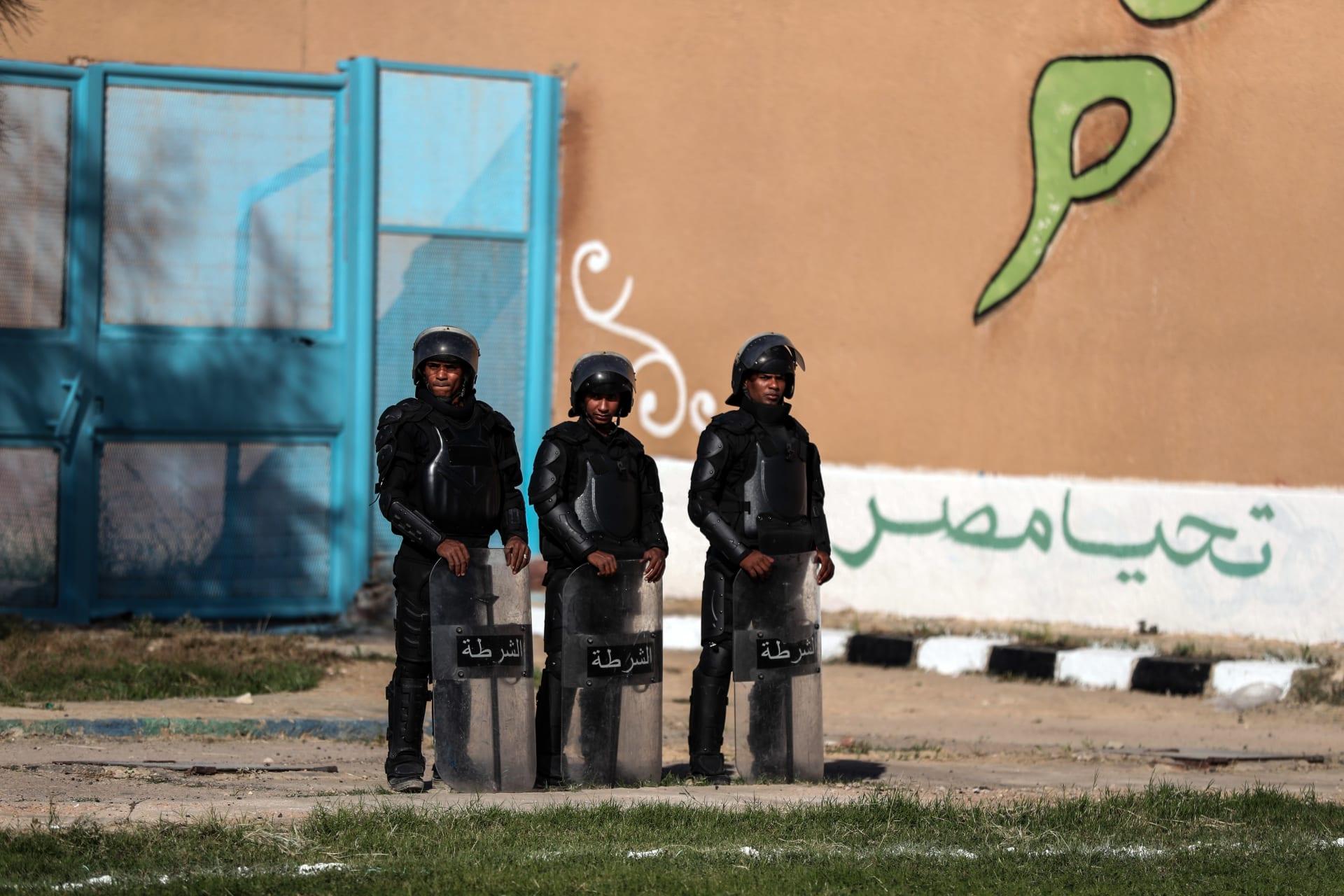 صورة أرشيفية لعناصر بالأمن المصري العام 2019
