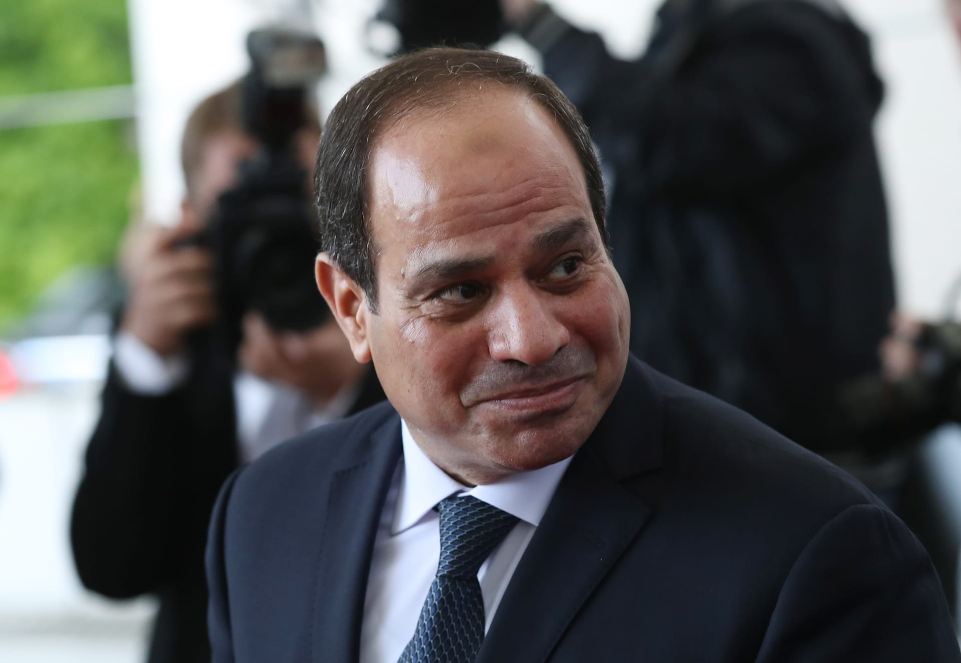 """في حفل عُزف فيه """"هاتكفاه"""".. تقديم أول سفيرة إسرائيلية في مصر للسيسي"""