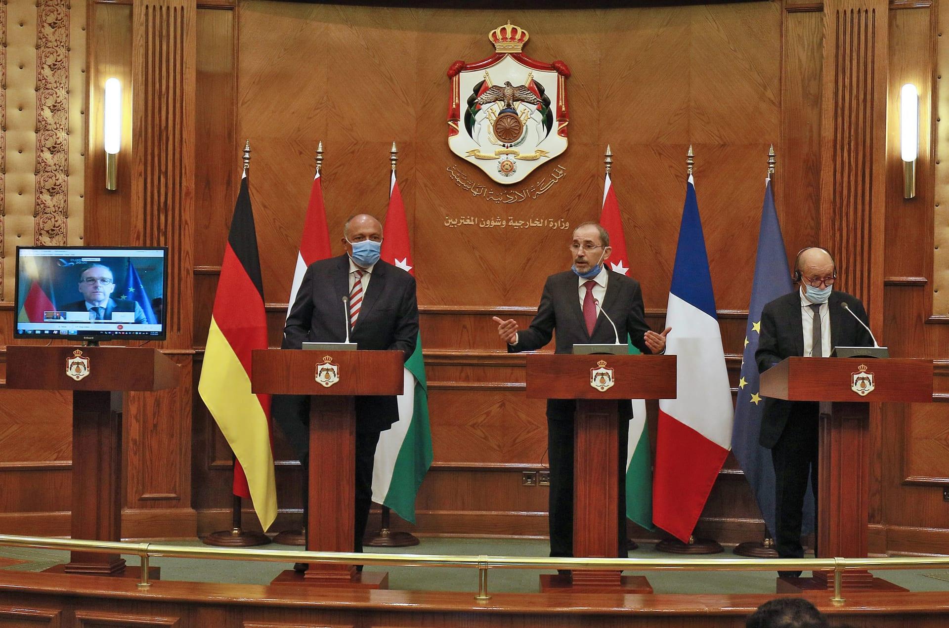 """اجتماع عمّان """"للسلام"""" يدعو لتحويل قرار تعليق خطة الضم الإسرائيلية إلى وقف نهائي"""