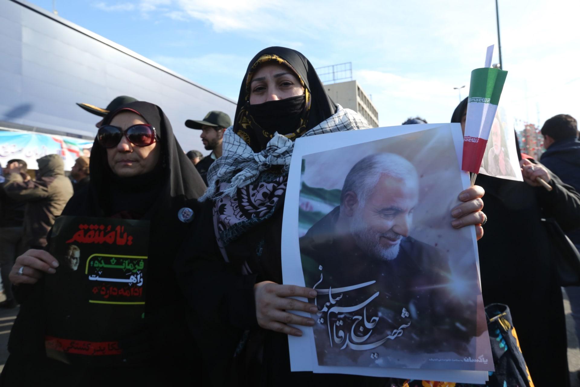 إيران:الحد الأدنى لمعاقبة أمريكا على قتل سليماني هو مغادرة العراق فورا