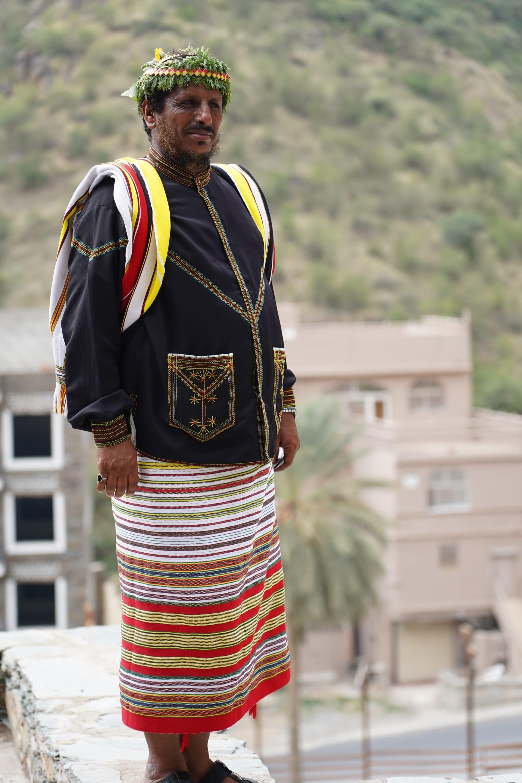 قرية رجال ألمع في السعودية