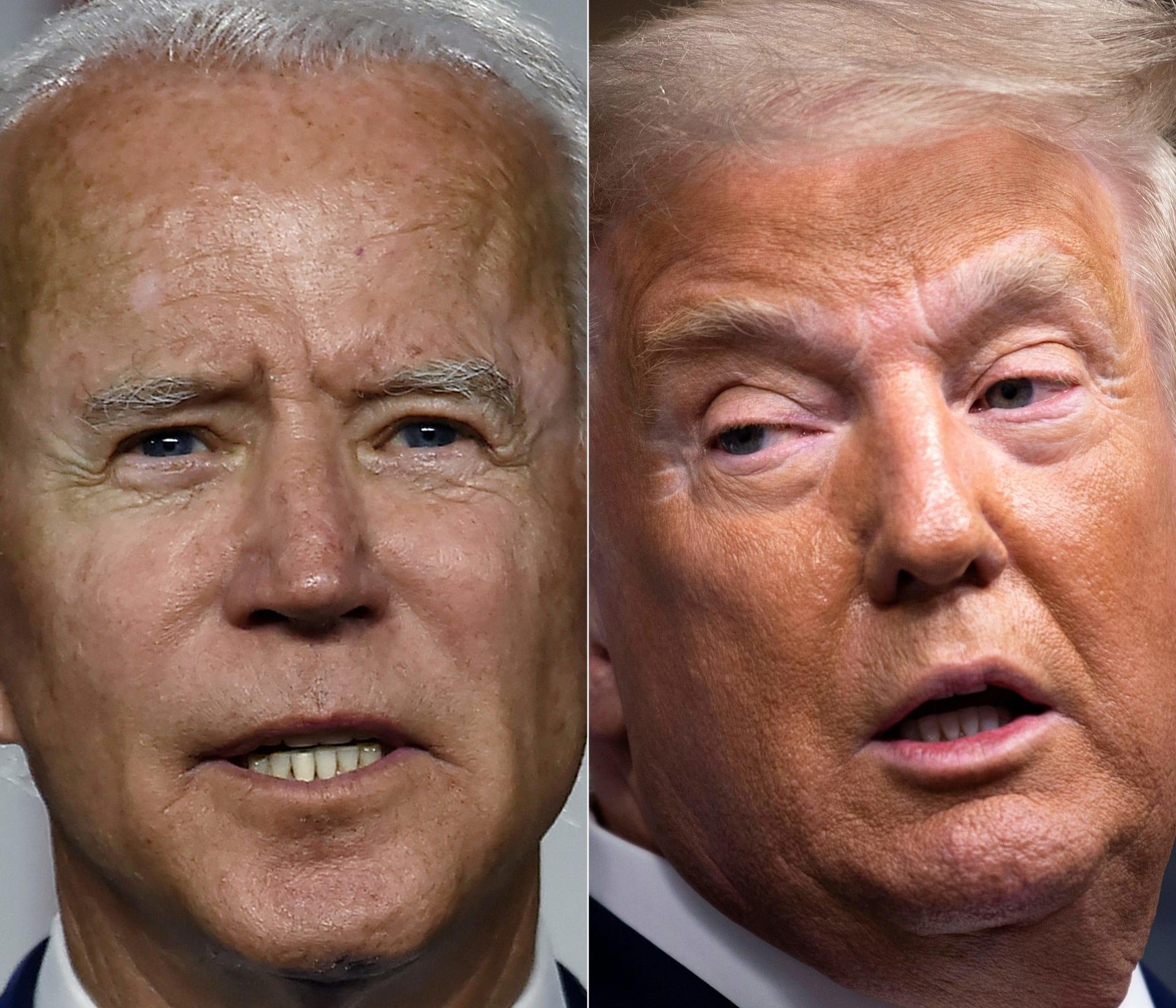 وجها لوجه.. ترامب وبايدن في مناظرة مرتقبة بالطريق نحو البيت الأبيض