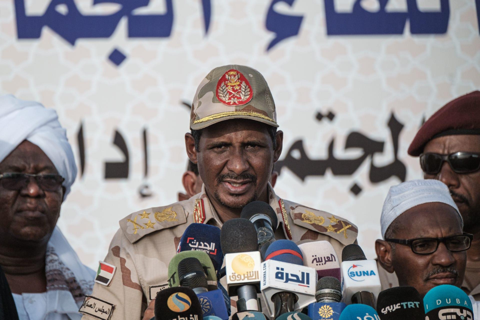 """نائب رئيس مجلس السيادة السوداني: """"نحن نحتاج إلى إسرائيل"""""""