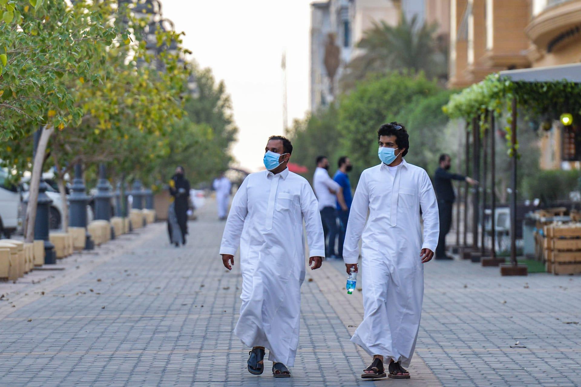 السعودية.. أقل معدل يومي لإصابات كورونا منذ أبريل