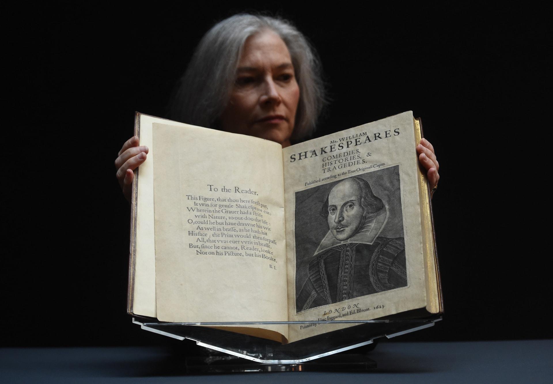أغلى عمل أدبي في المزاد ونسخة نادرة لشكسبير تباع بملايين الدولارات
