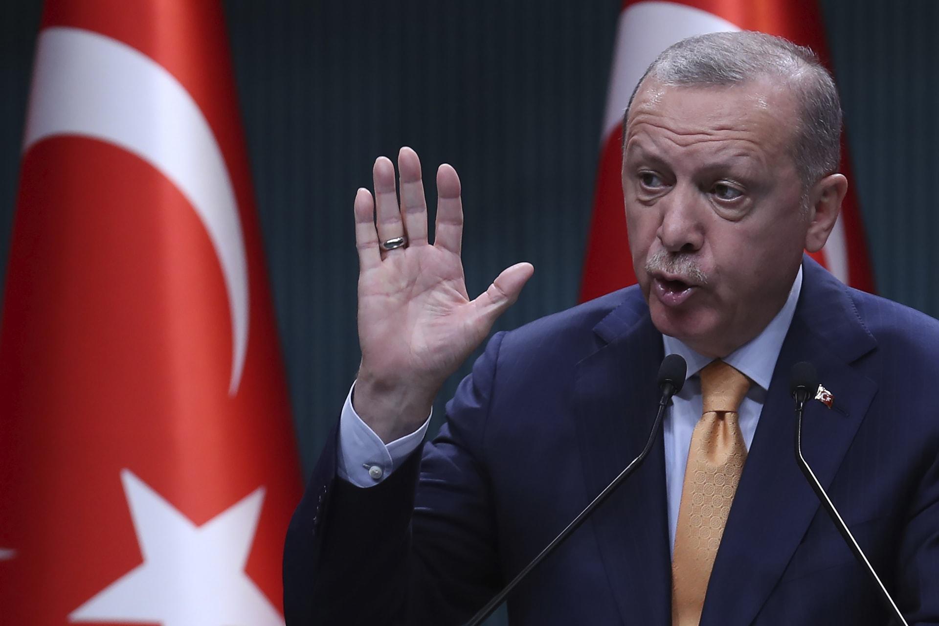 أردوغان: تركيا تدعم إيران مقابل الحظر الأمريكي