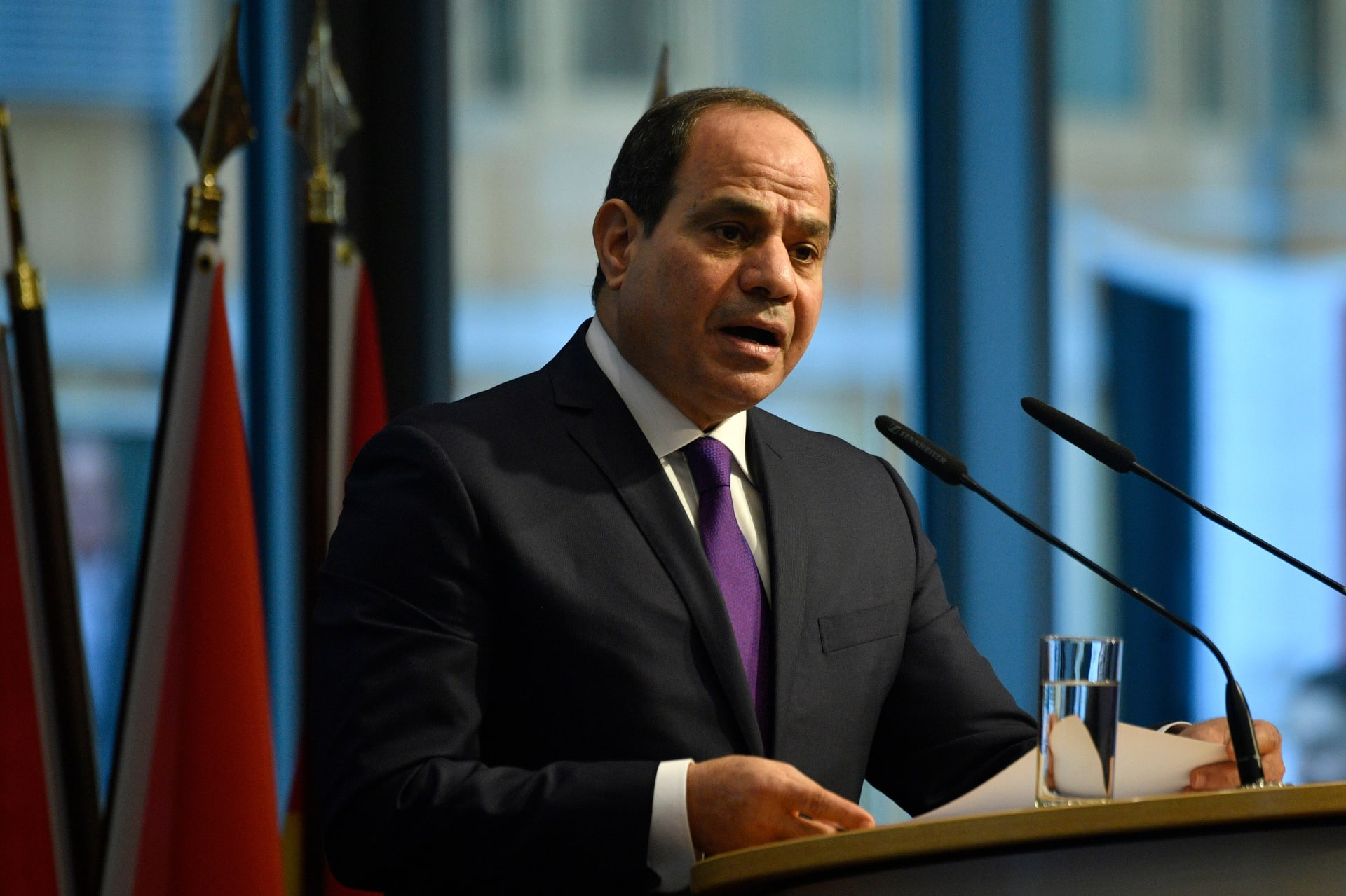 صورة ارشيفية للرئيس المصري، عبدالفتاح السيسي