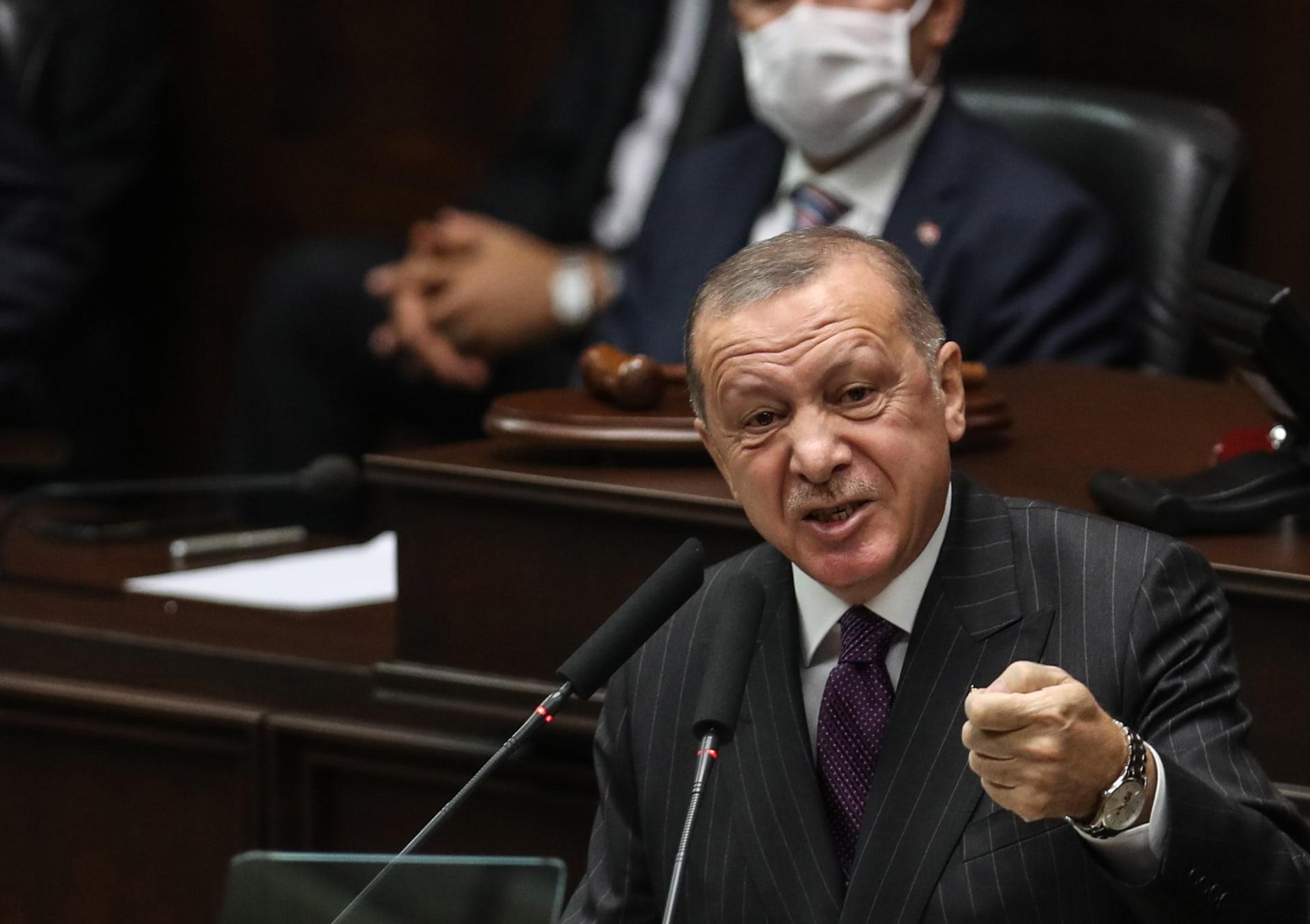 صورة أرشيفية للرئيس التركي ردب طيب أردوغان