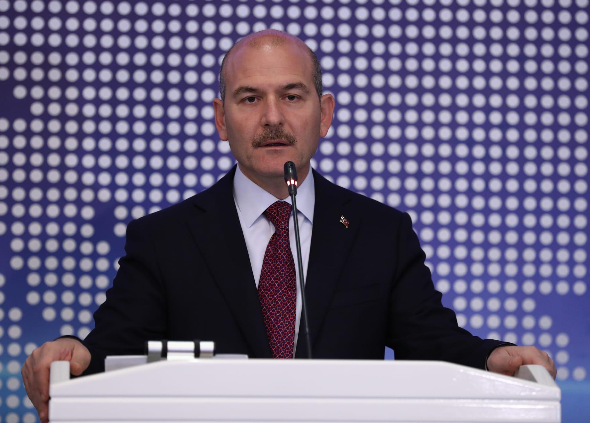 إصابة وزير داخلية تركيا وأسرته ومُتحدث الرئاسة بفيروس كورونا