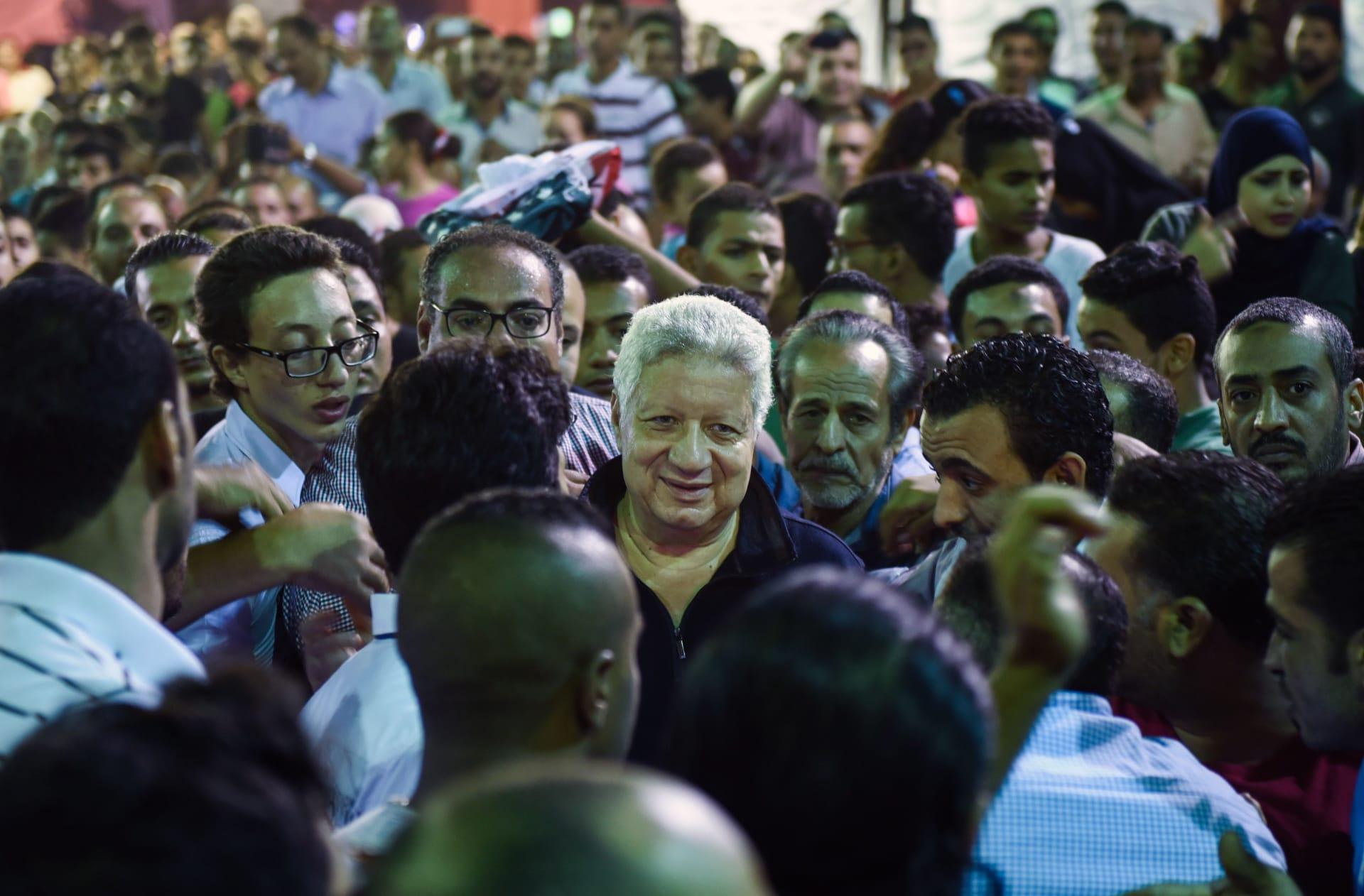رئيس نادي الزمالك مرتضى منصور الأكثر تداولا على مستوى مصر في تويتر
