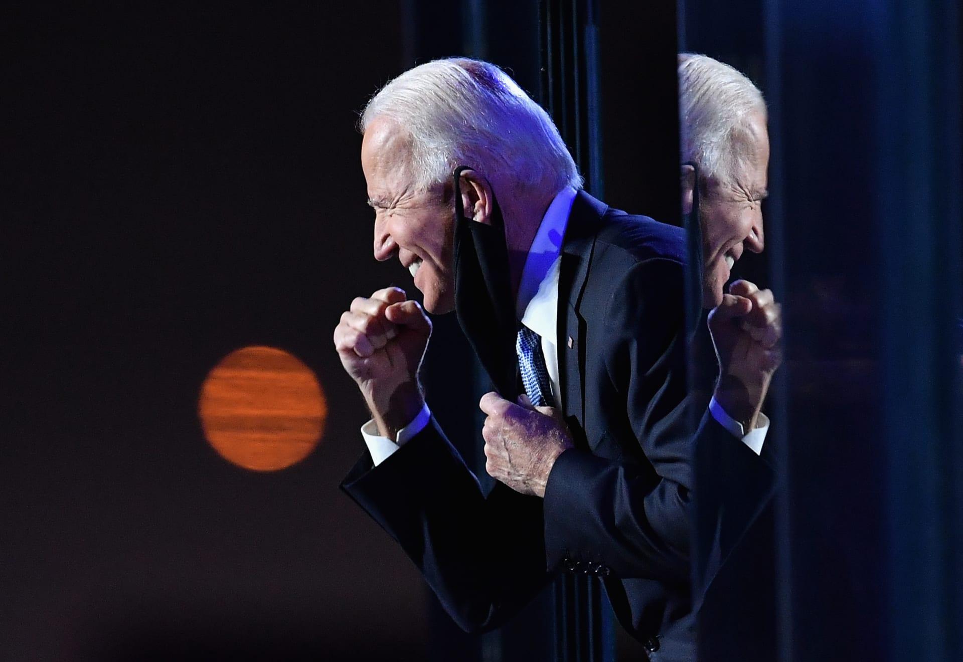 الرئيس المنتخب جو بايدن