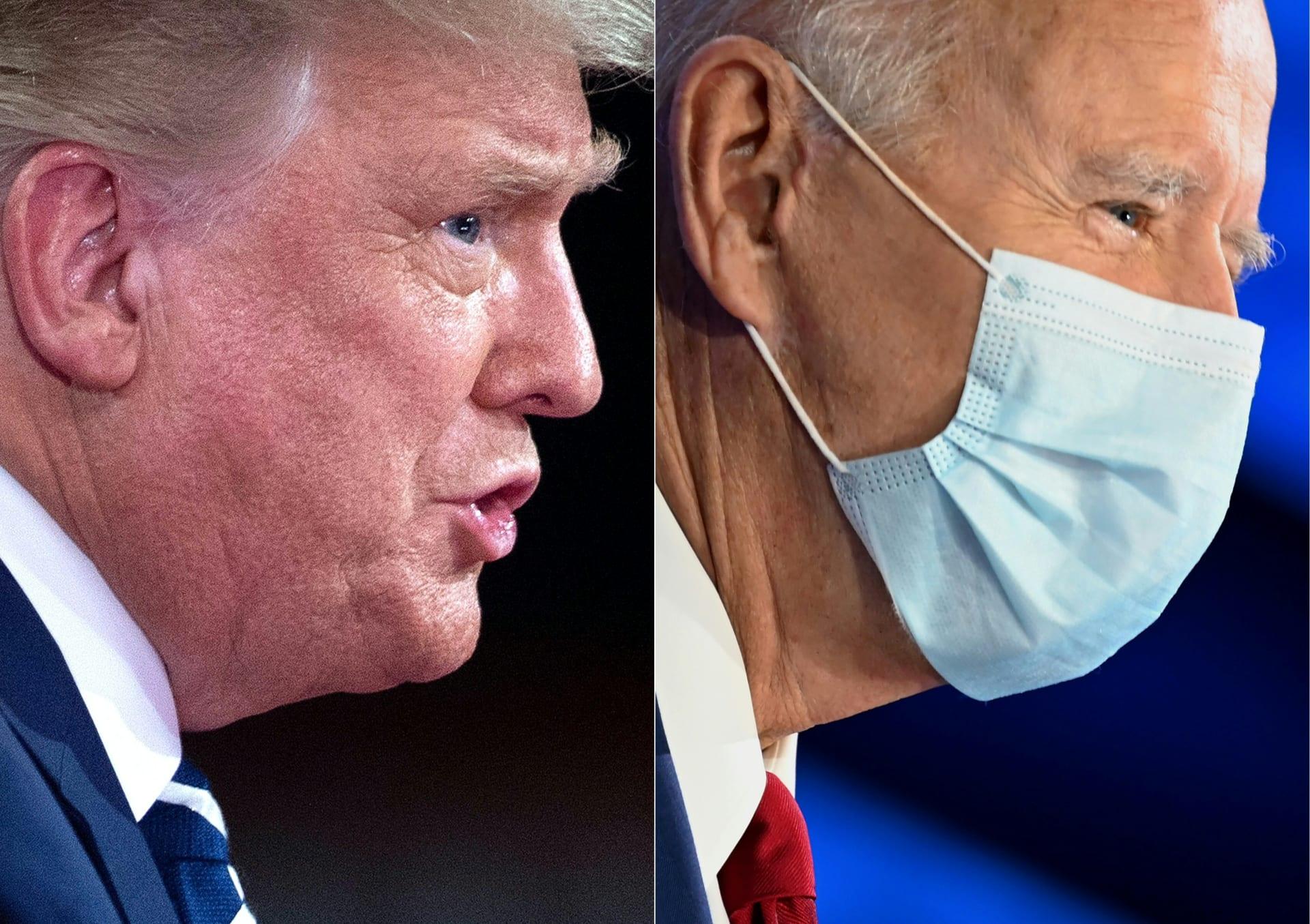 ترامب وبايدن