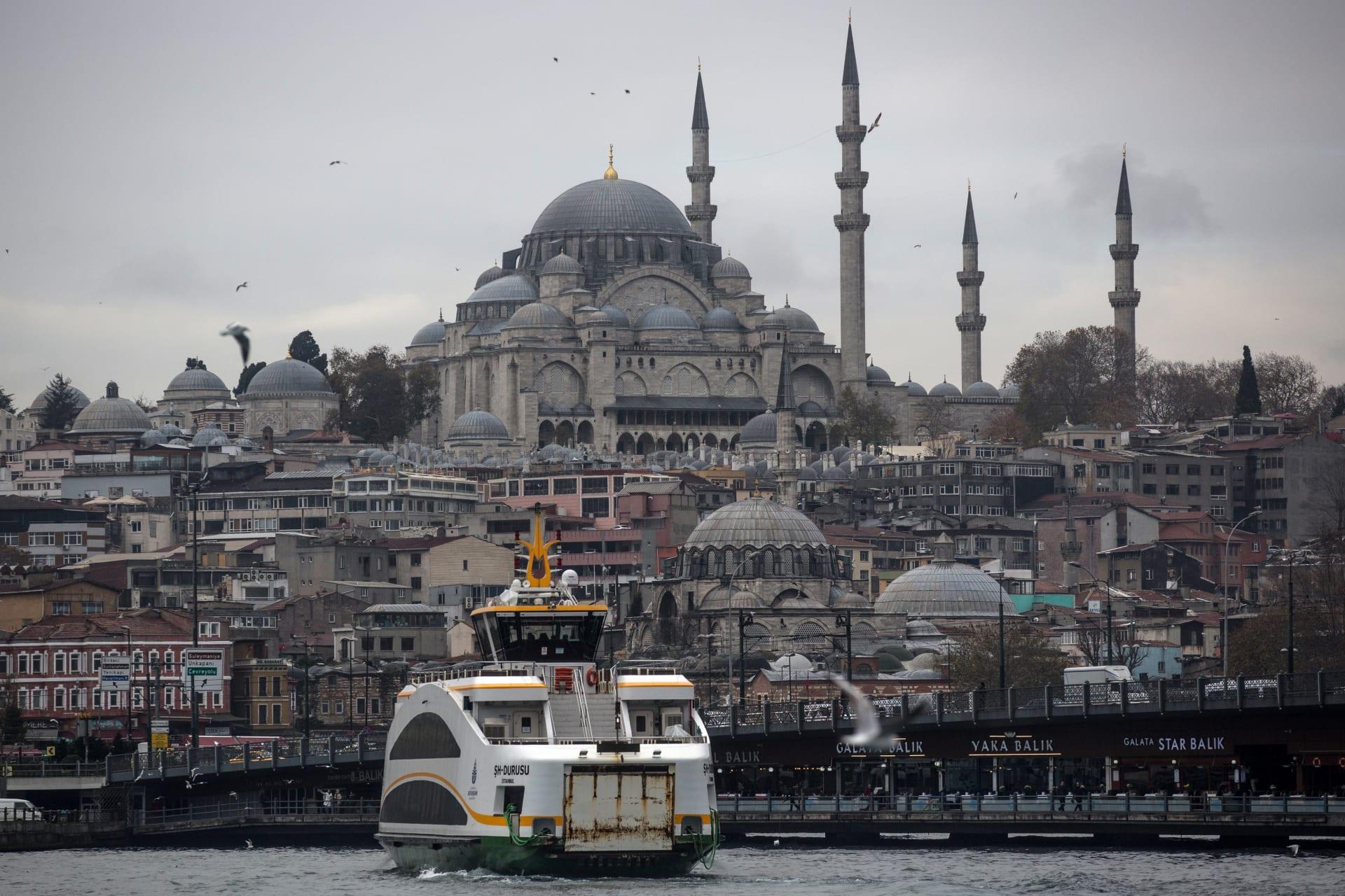 صورة أرشيفية من مدينة اسطنبول في تركيا