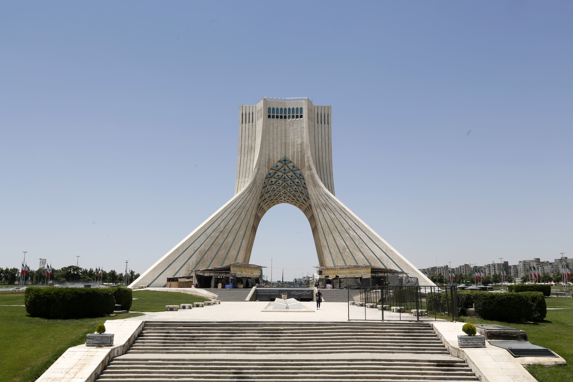صورة أرشيفية لميدان الحرية في طهران