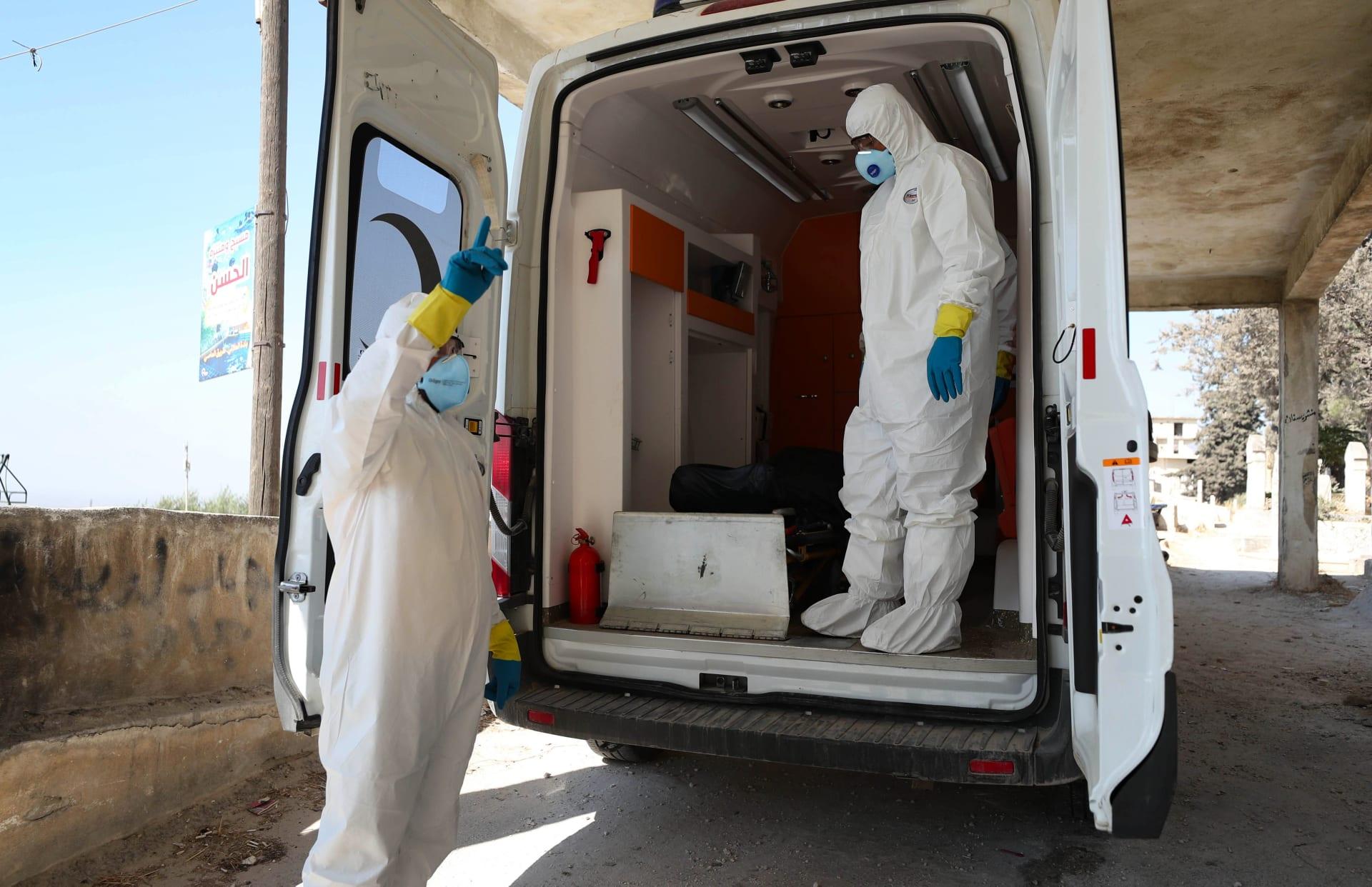 شمال غرب سوريا يسجل زيادة قياسية في إصابات كورونا وسط امتلاء أسرة العناية المركزة