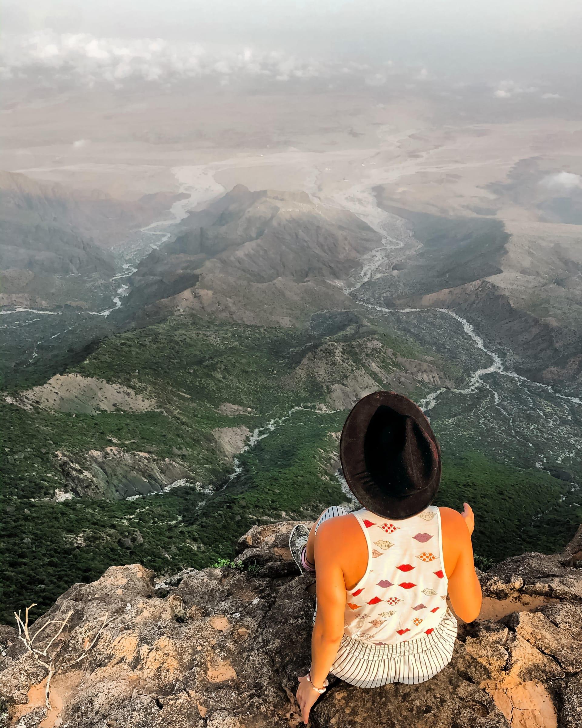جبل سمحان في عمان