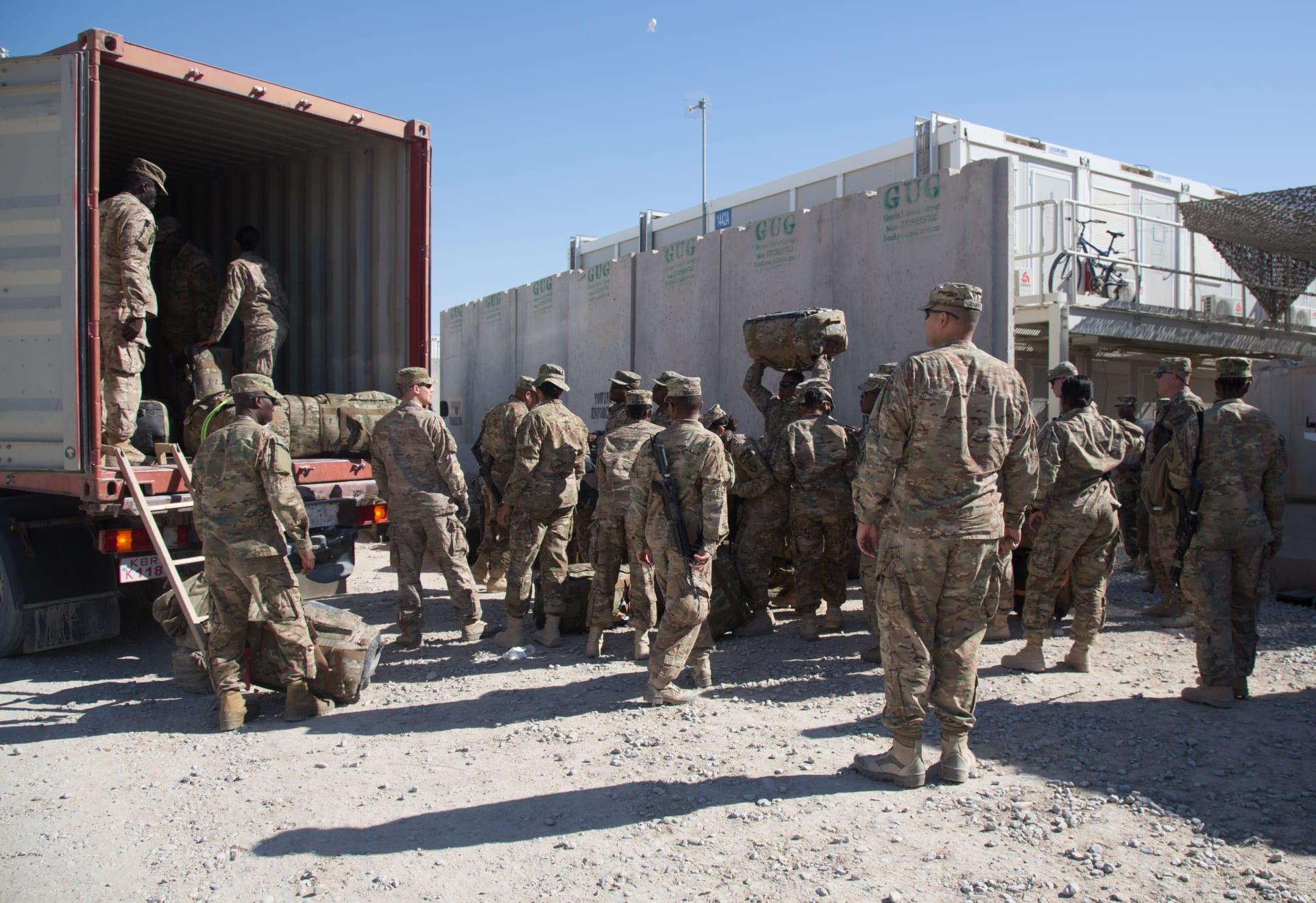 الجيش الأمريكي يتوقع أمرًا وشيكا لترامب بسحب مزيد من قواته في العراق وأفغانستان