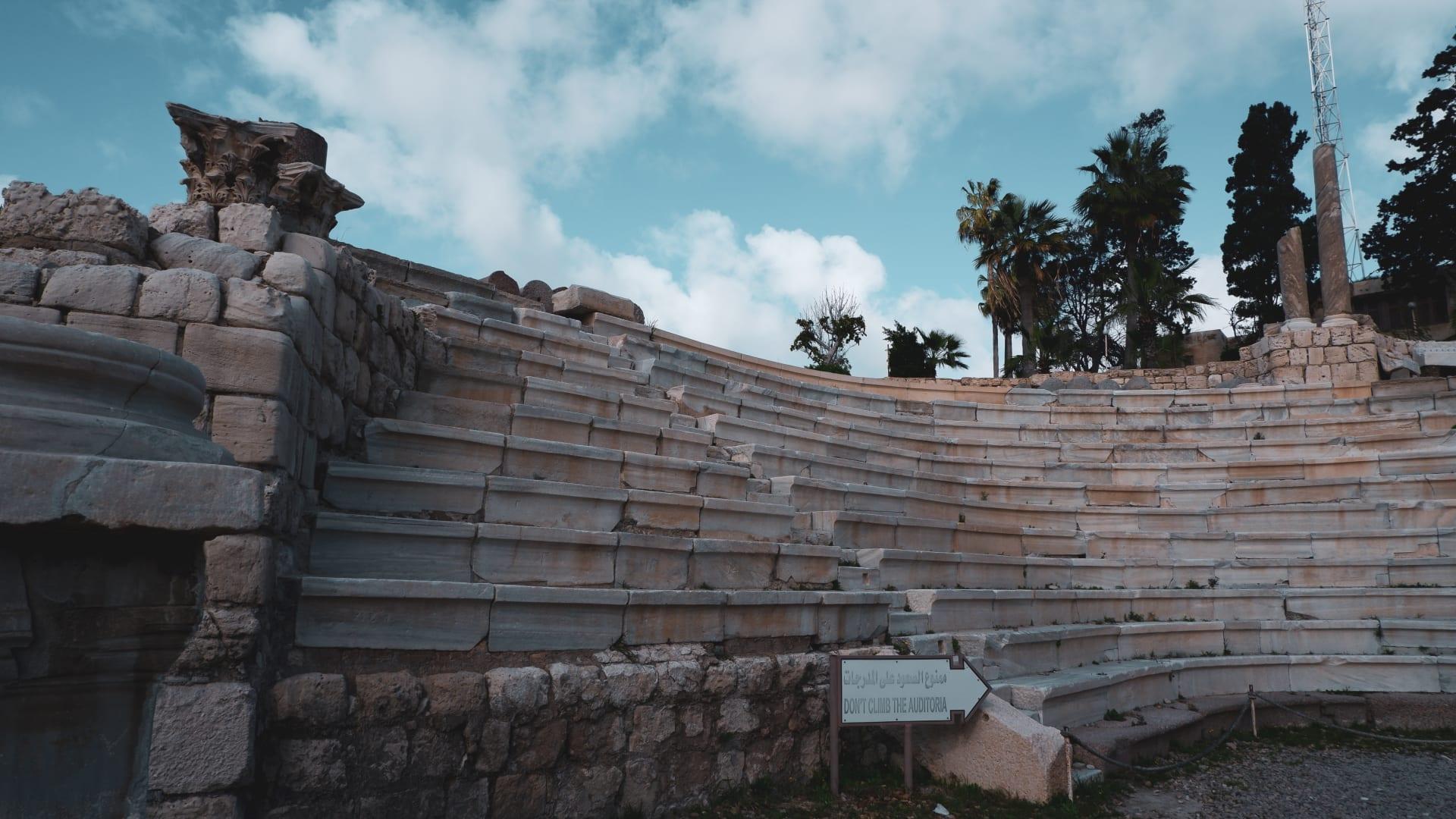 المسرح الرومانى بالاسكندرية