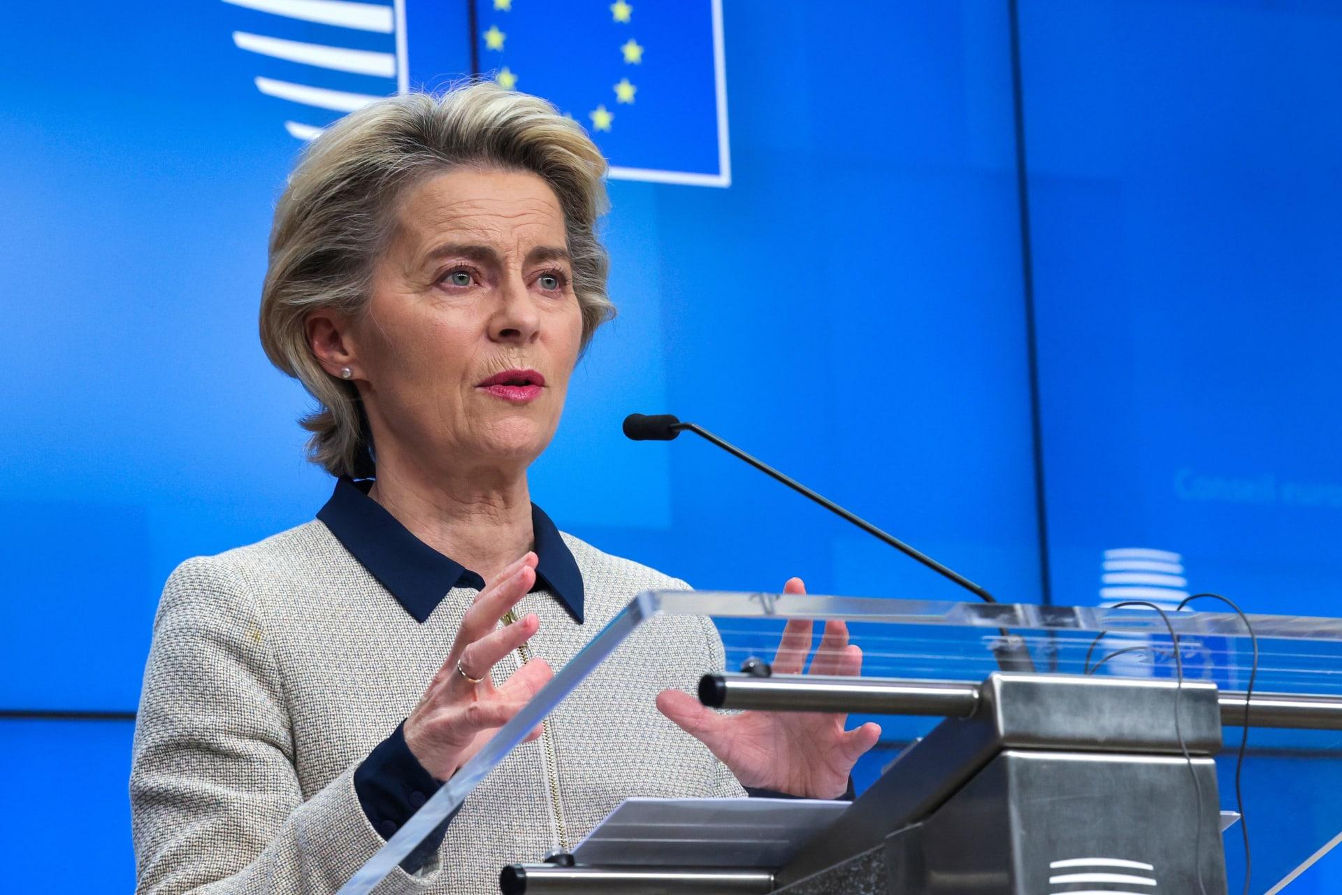 """رئيسة المفوضية الأوروبية """"متفائلة للغاية"""" من تولي بايدن الحكم"""
