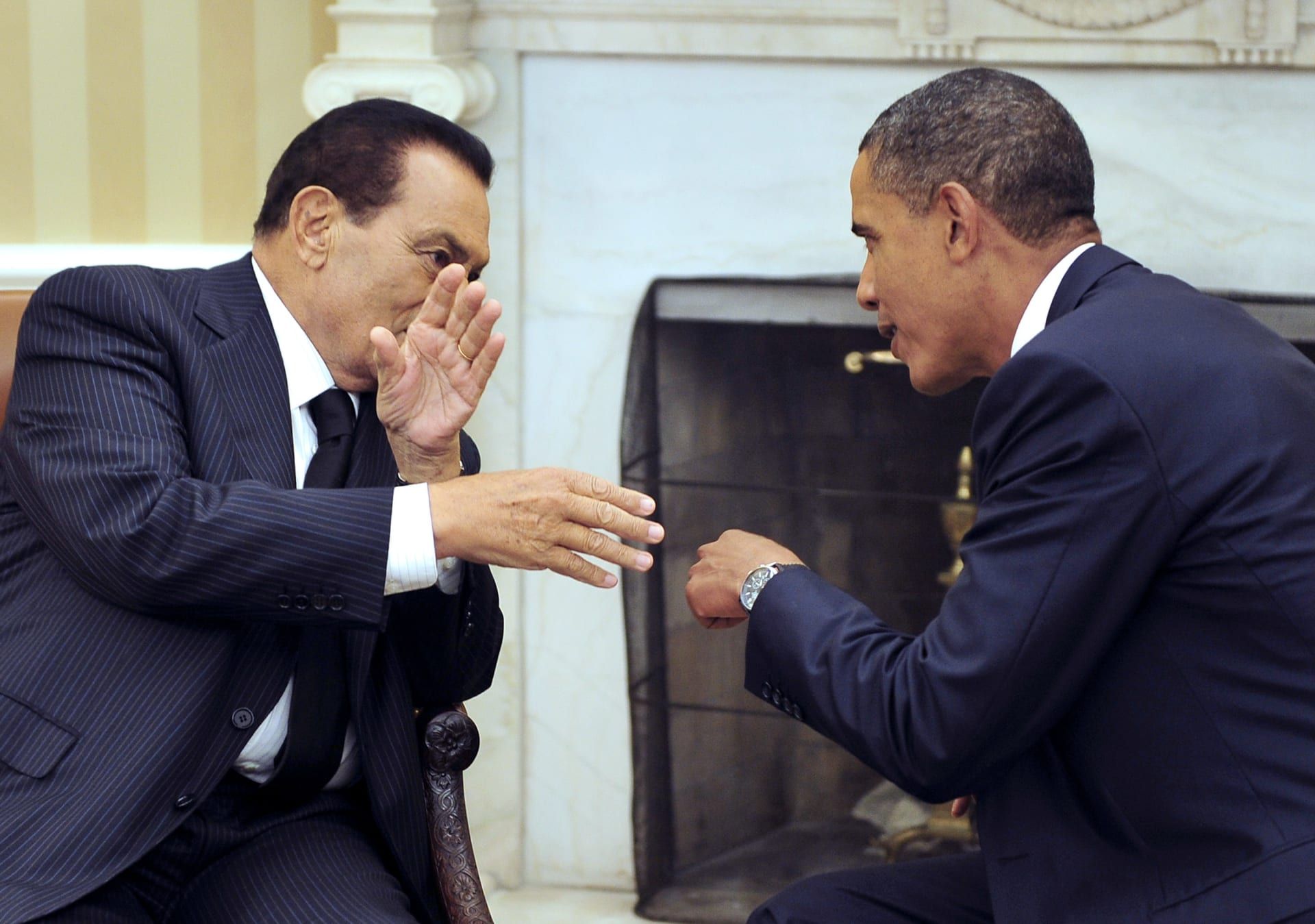 أوباما يتحدث عن حسني مبارك: الإدارات الأمريكية تغاضت عن الفساد وانتهاكات حقوق الإنسان في عهده