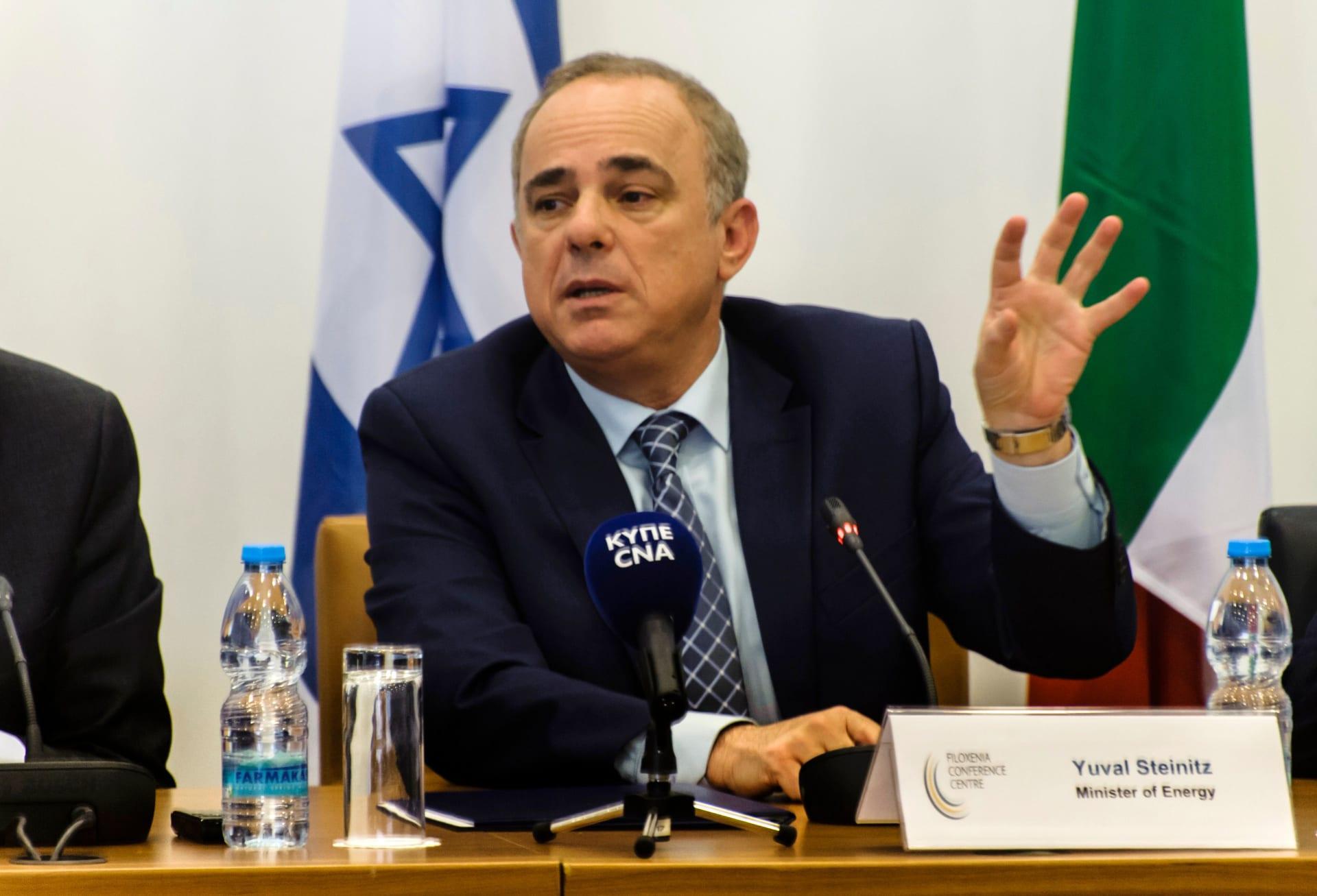 وزير إسرائيلي يرد على تصريحات الرئيس اللبناني حول ترسيم الحدود البحرية: لا تعرف جميع الحقائق
