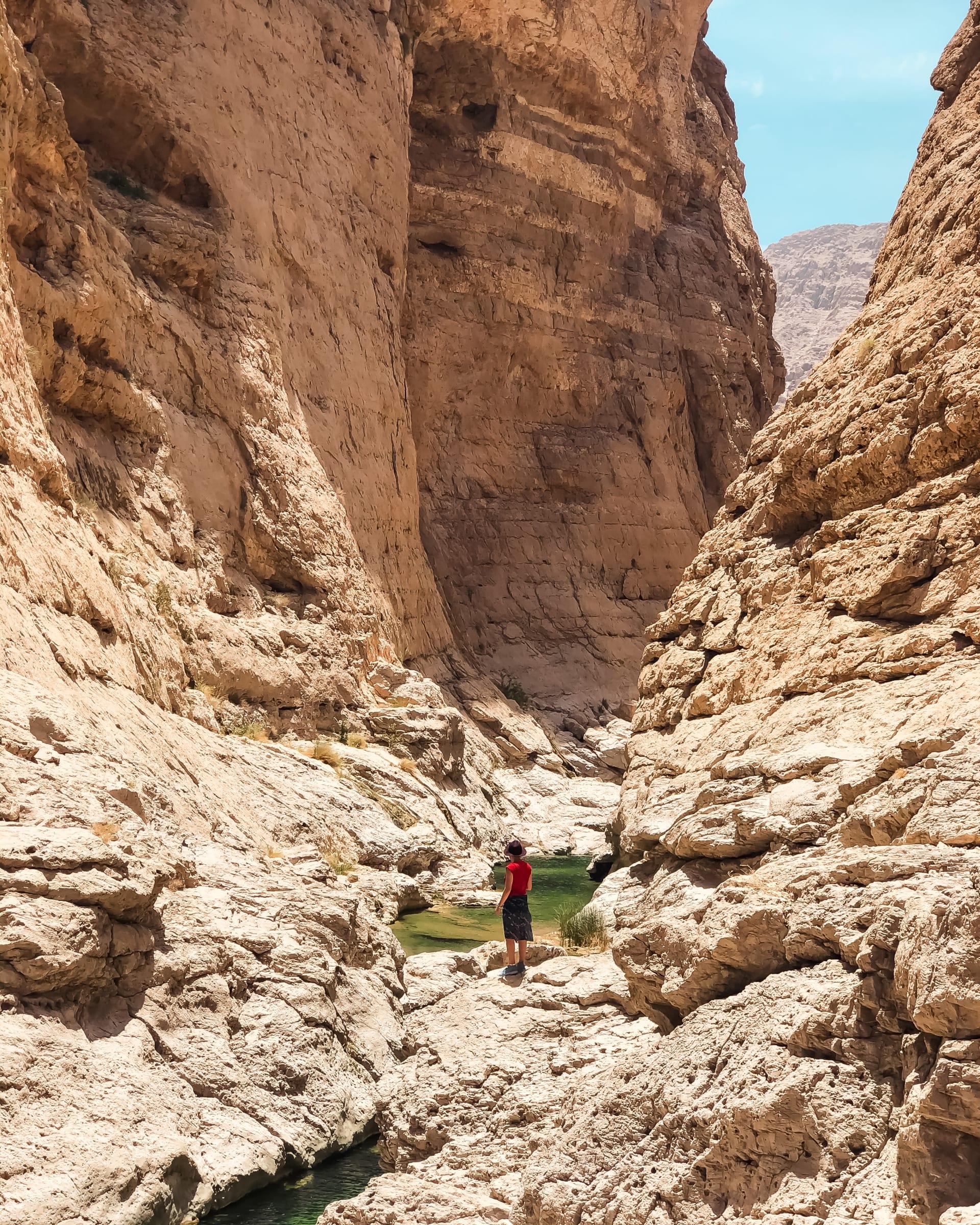 وادي العربيين في عمان