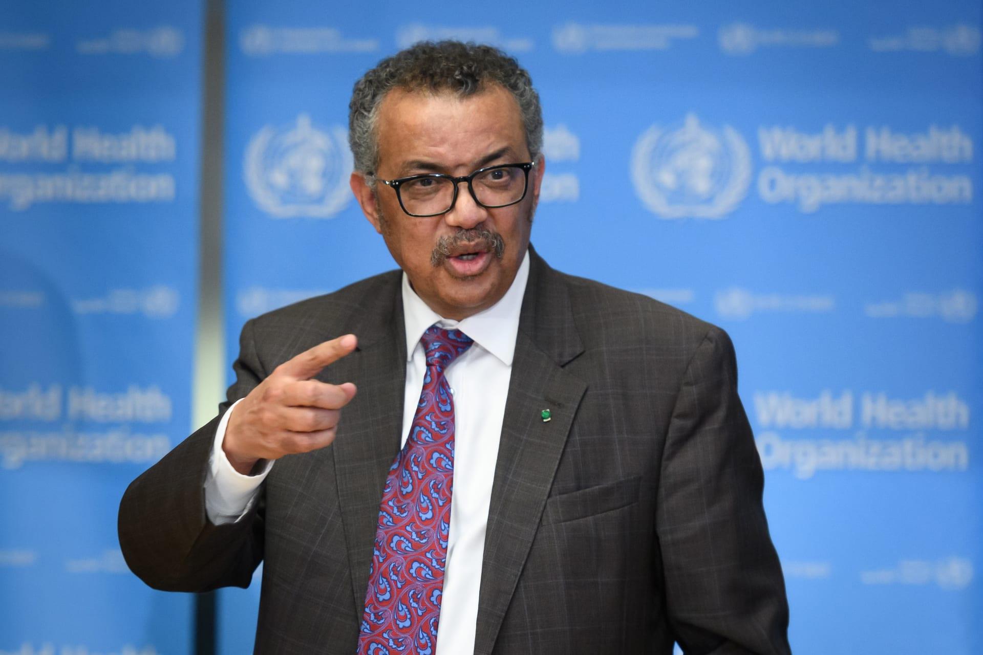 """حول فيروس كورونا.. مدير منظمة الصحة العالمية يتحدث عن """"ضوء أكثر إشعاعا في نهاية النفق المظلم"""""""