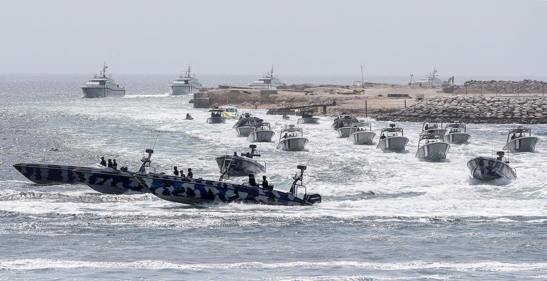 صورة أرشيفية لزوارق تابعة لخفر السواحل القطري