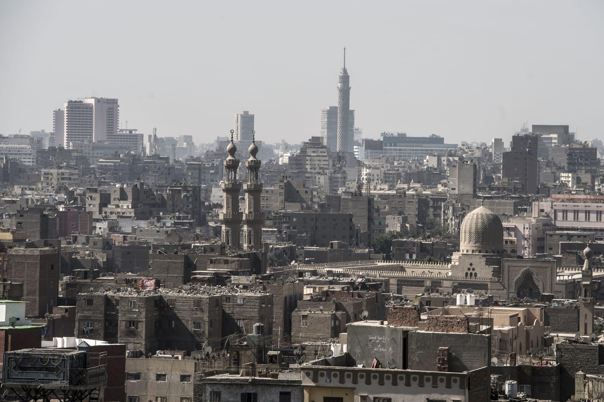 صورة أرشيفية عامة لجانب من العاصمة المصرية القاهرة