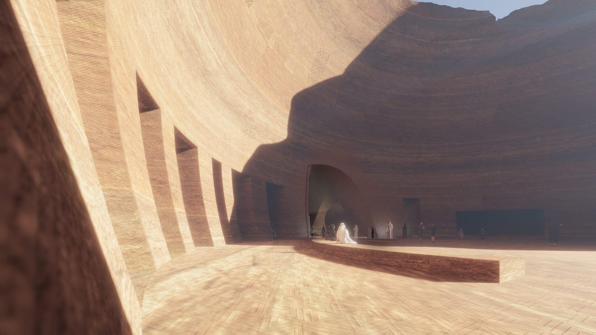 مخفي بين الطبيعة الصحراوية للعلا.. سيكون هذا المنتجع الفريد قيد الإنشاء بالسعودية