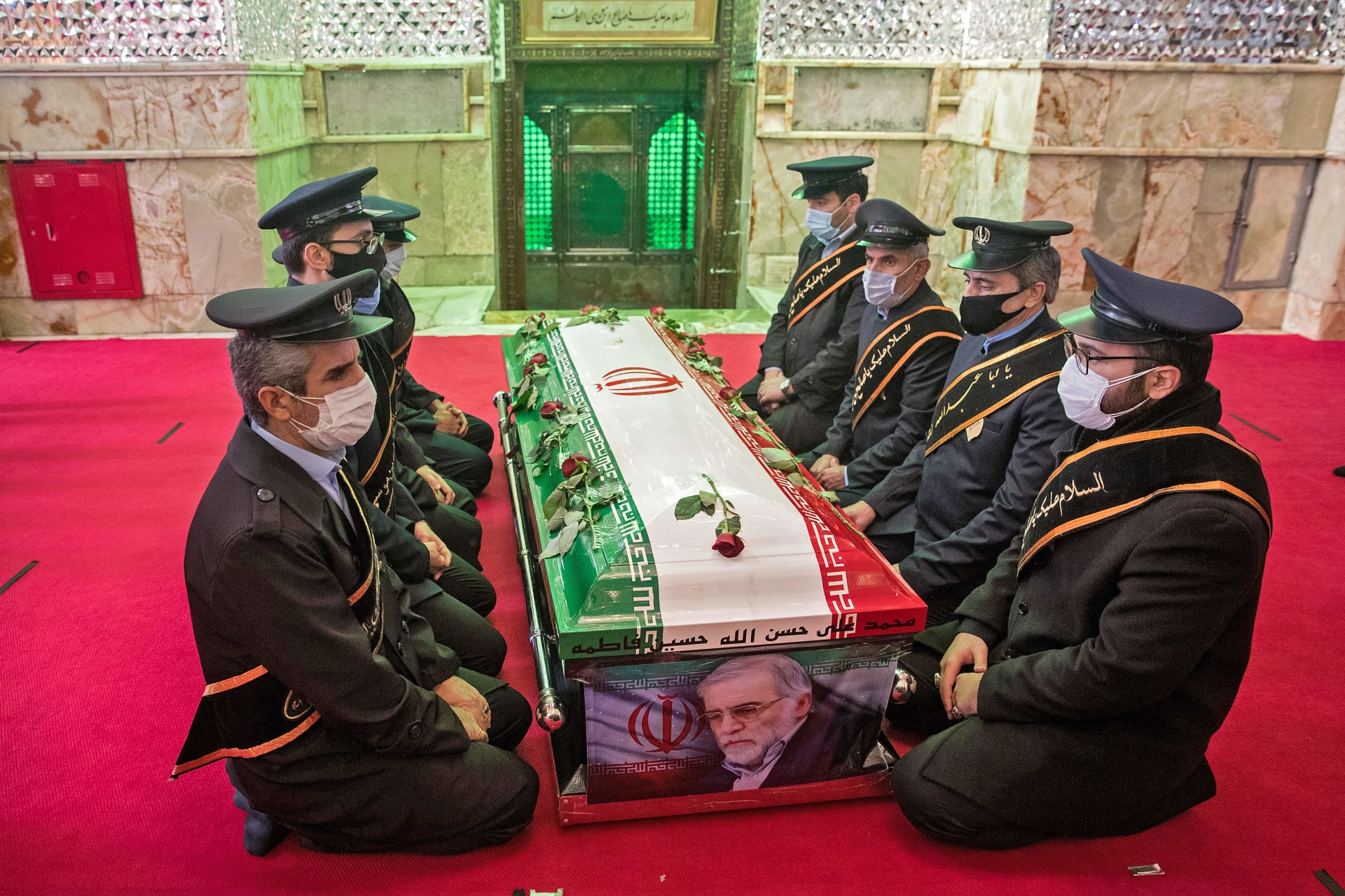 الحكومة الإيرانية تعلن التعرف على المتورطين باغتيال محسن فخري زادة