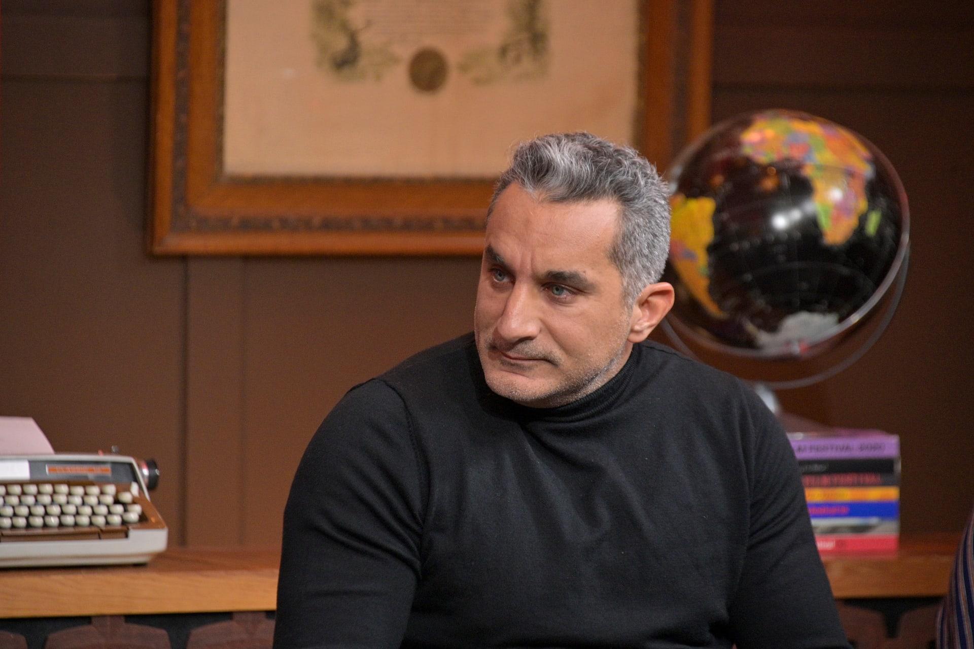 """باسم يوسف يوجه رسالة للإعلاميين: أنا مش بتاع """"ٍسبوبة"""" وماليش في جو """"السيديهات"""""""