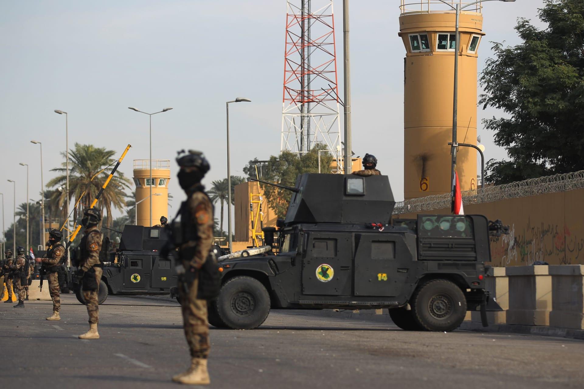 أمريكا تسحب مؤقتا موظفي سفارتها في بغداد وسط مخاوف من انتقام إيران مع حلول ذكرى مقتل سليماني