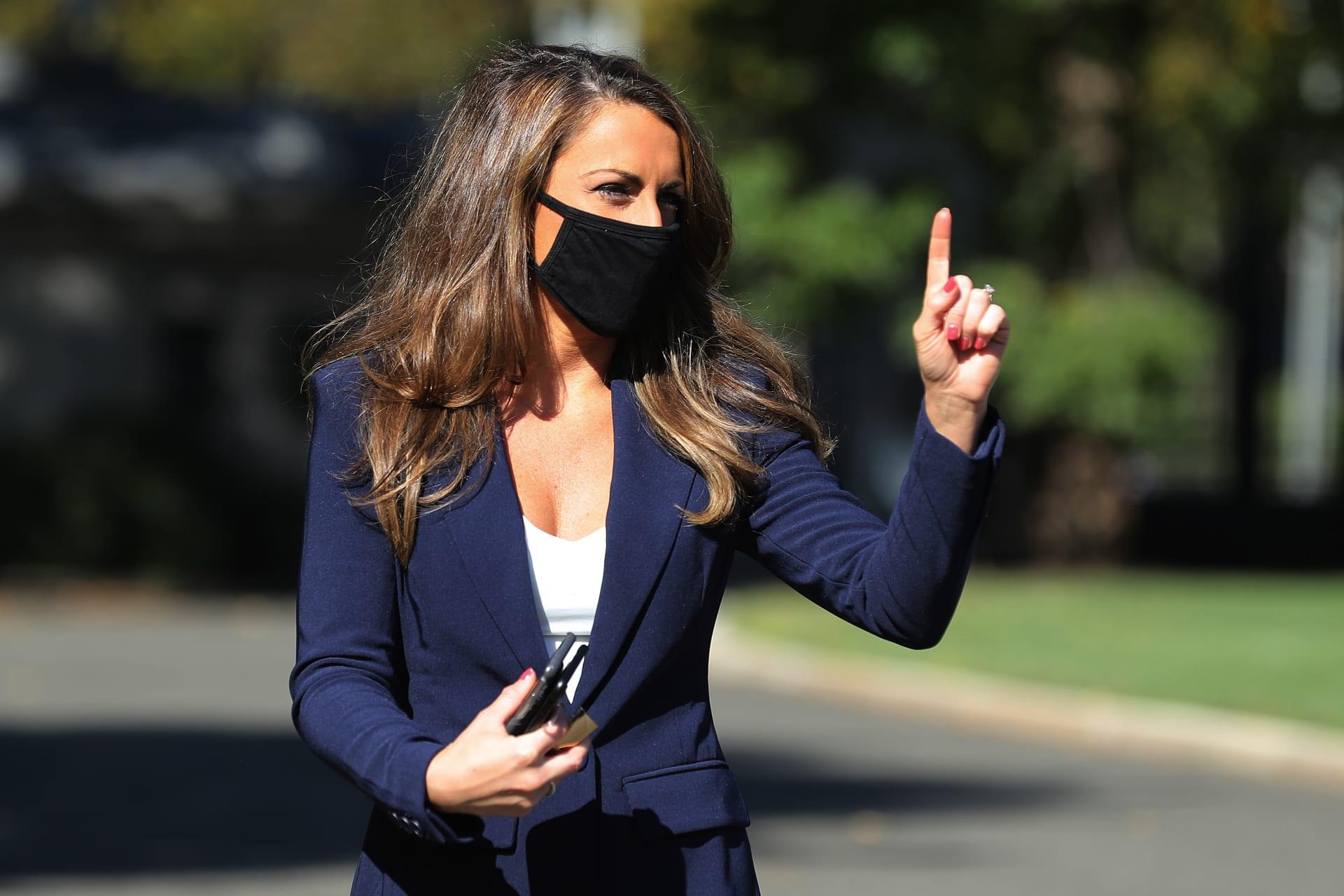 مديرة اتصالات البيت الأبيض أليسا فرح تعلن استقالتها من منصبها