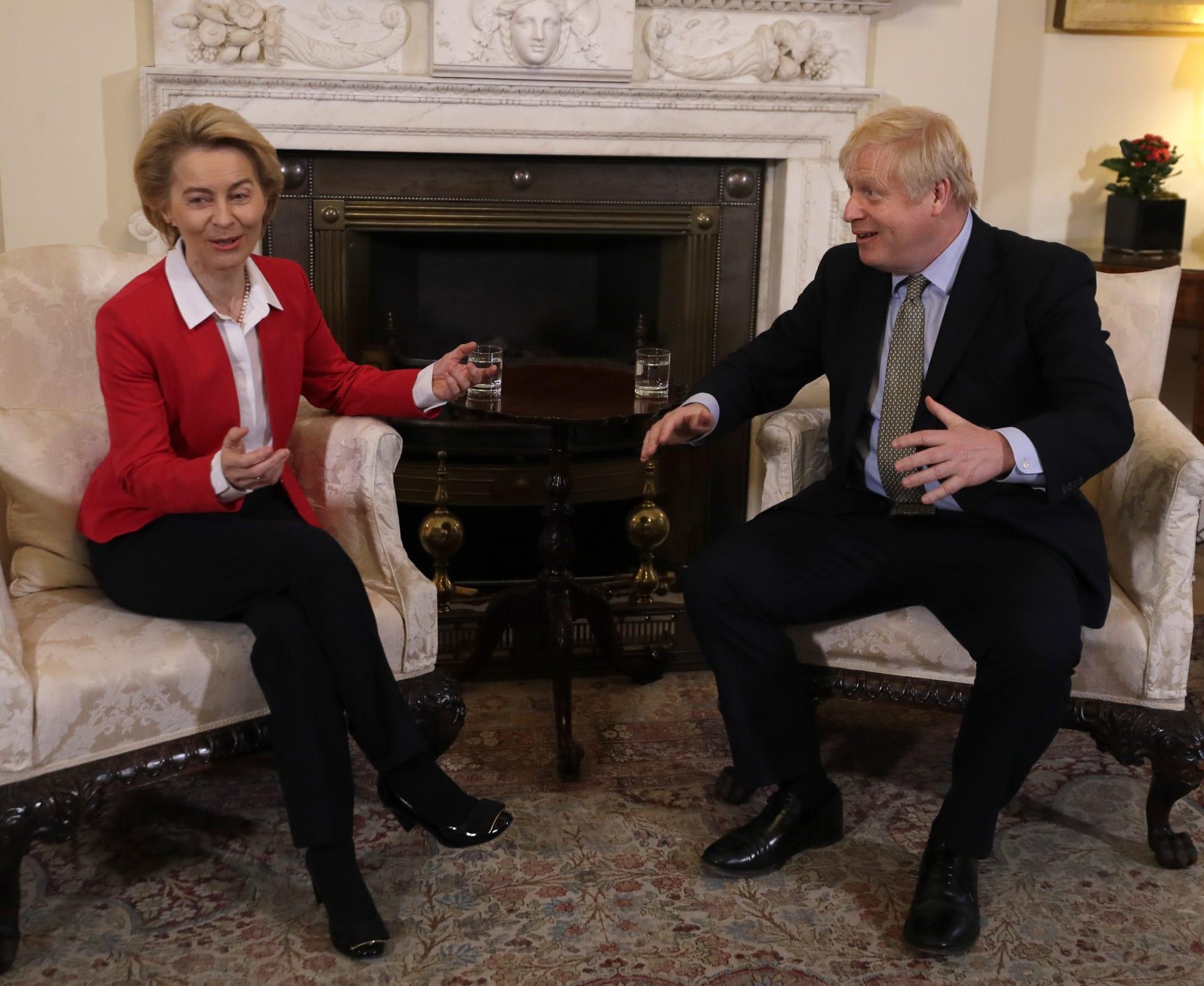 فون دير لاين: لا تزال الخلافات قائمة بشأن مفاوضات خروج بريطانيا من الاتحاد الأوروبي