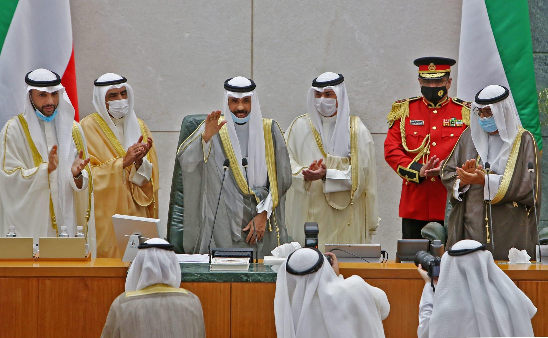 أمير الكويت يقبل استقالة الحكومة.. ويدعو لانعقاد مجلس الأمة في 15 ديسمبر