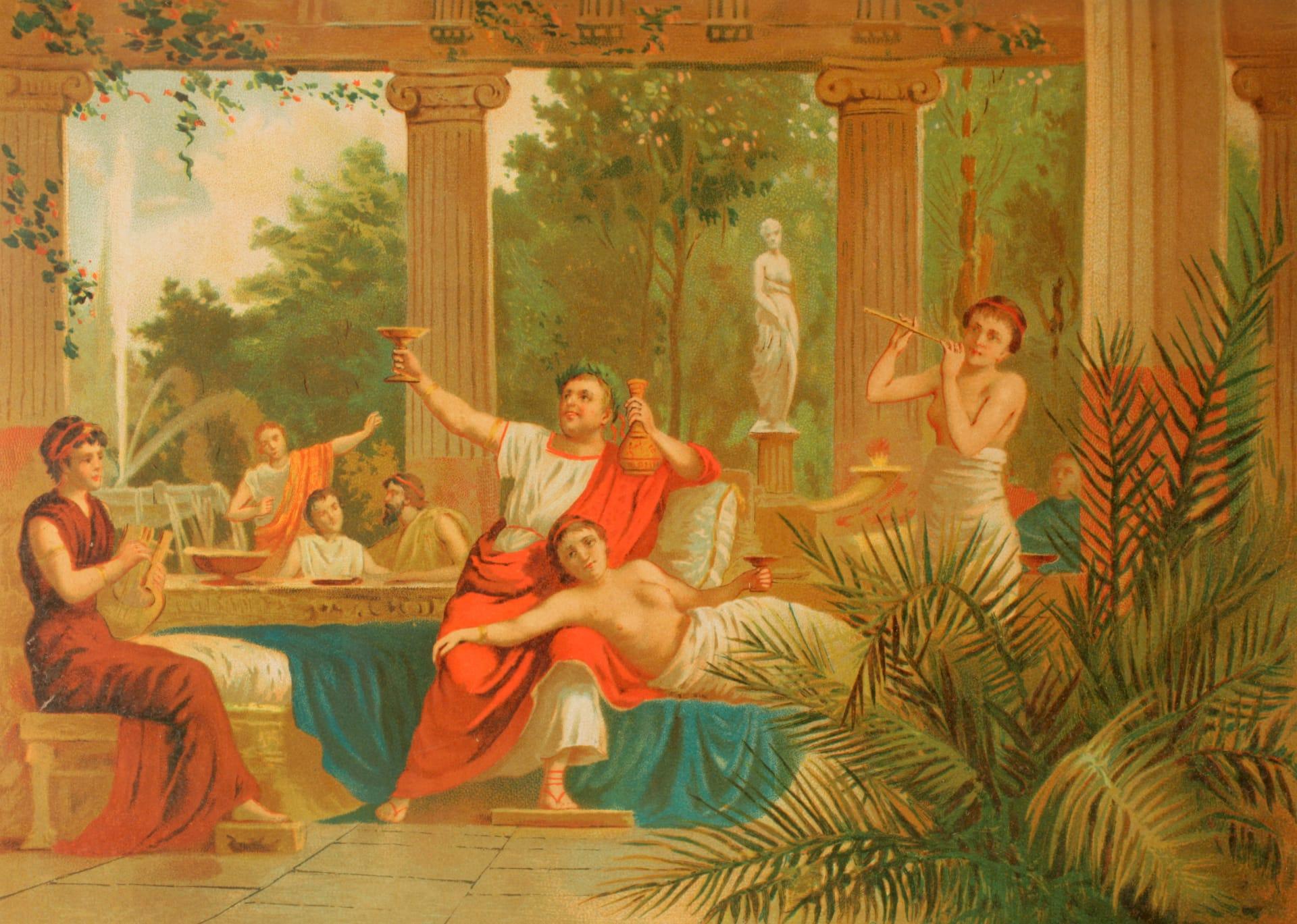 منها التقيء بين الوجبات.. إليكم أغرب عادات الرومان القدماء خلال الولائم