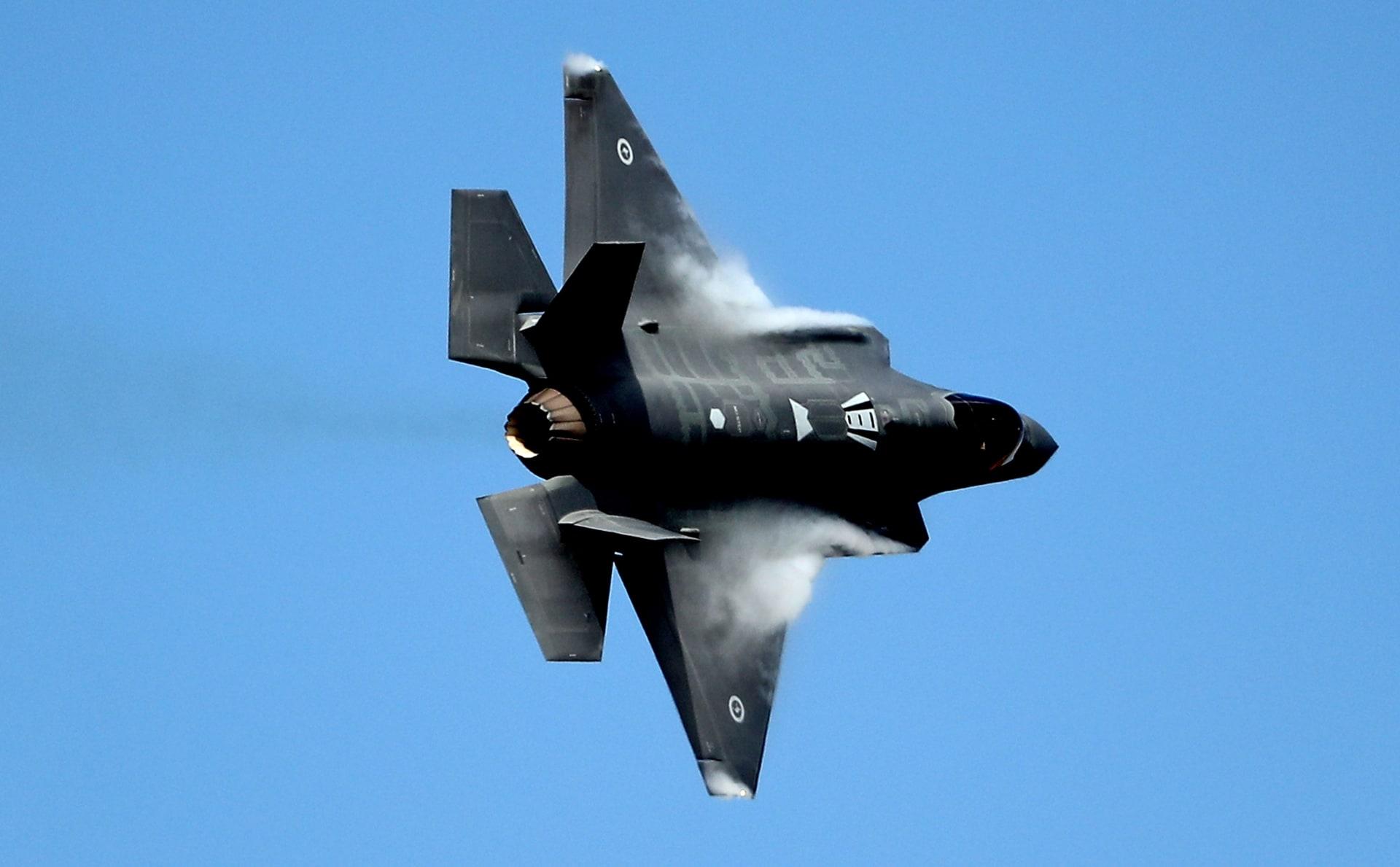 صورة أرشيفية لمقاتلة F-35