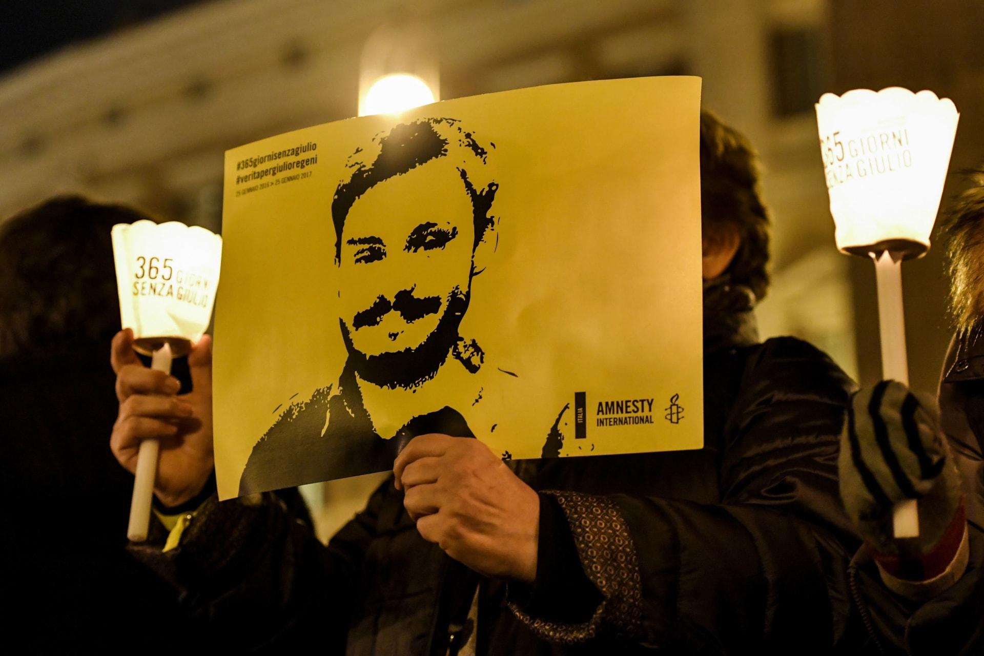 الادعاء الإيطالي يسمي أربعة من الأمن المصري مشتبه بهم في قضية خطف وقتل ريجيني