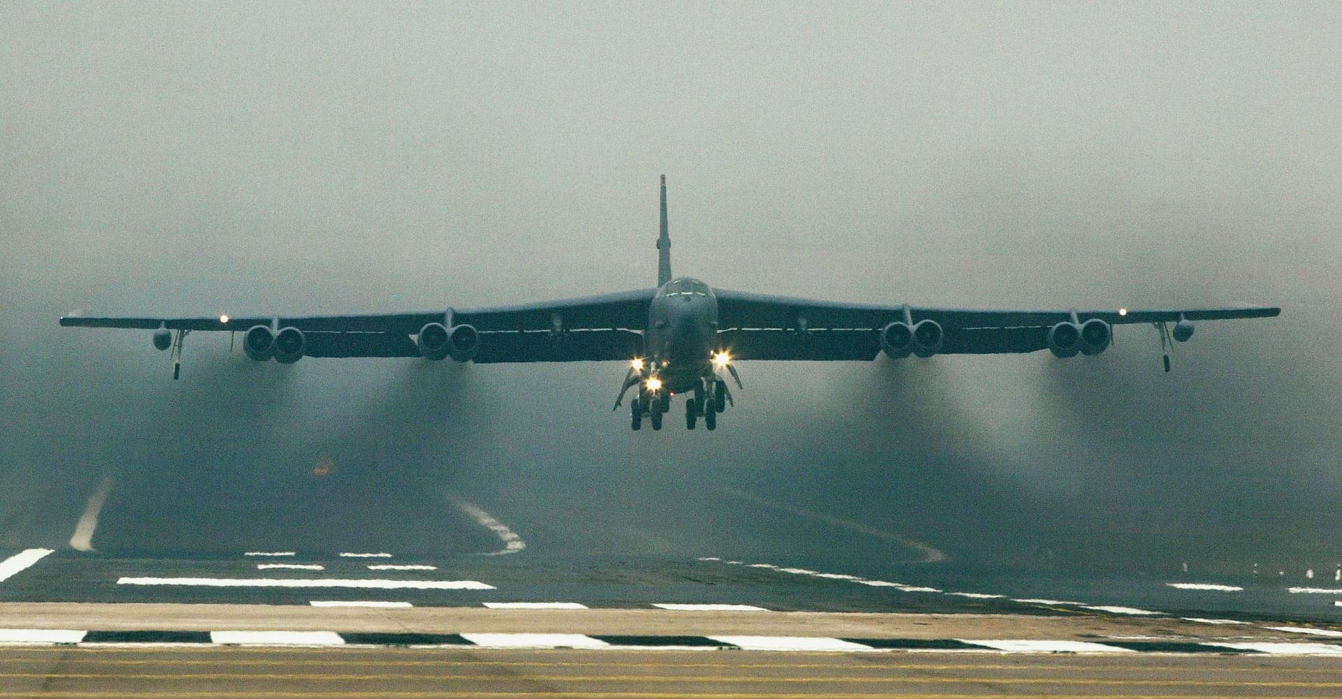 صورة أرشيفية لقاذفة B-52