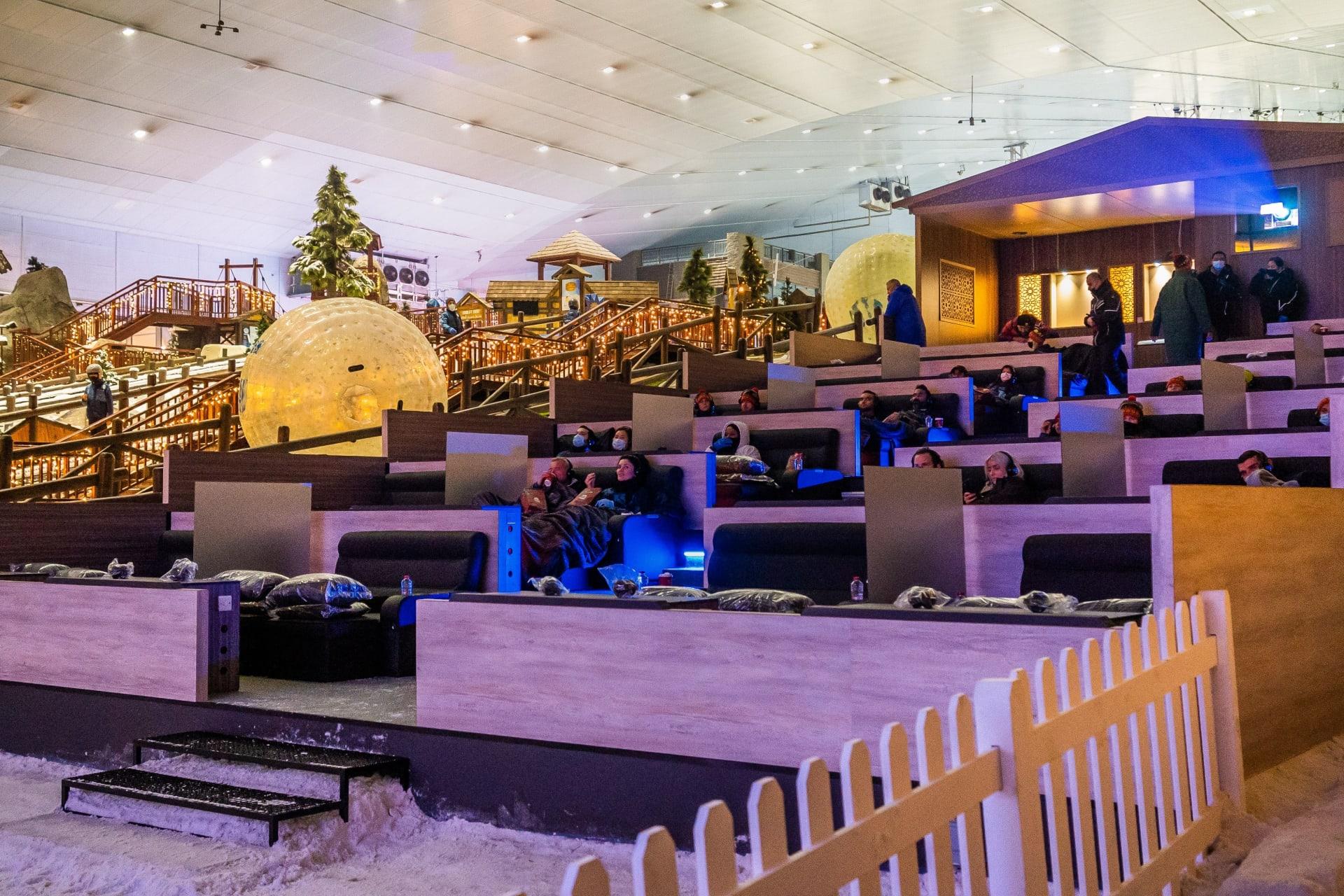 سينما الثلج في دبي