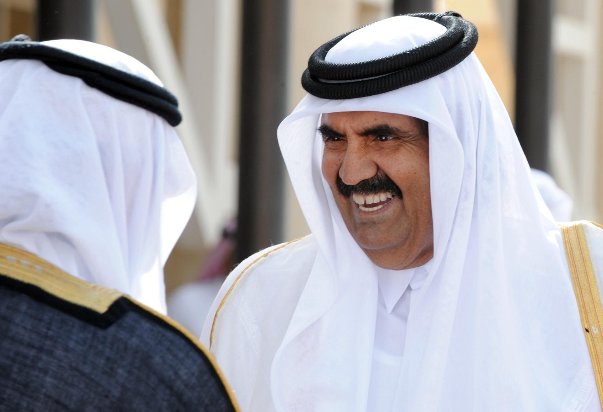 صورة أرشيفية للشيخ حمد بن خليفة