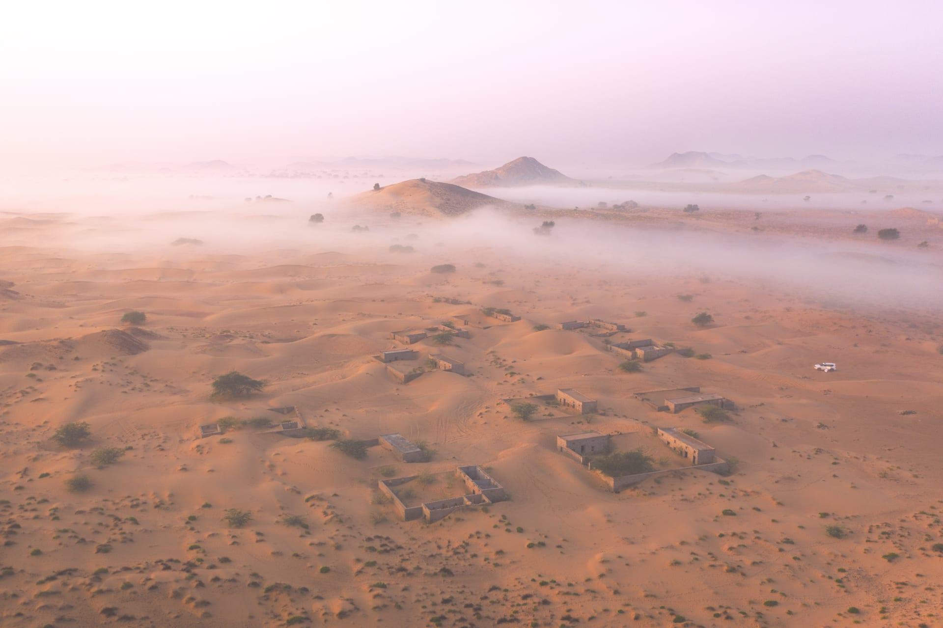 قرية وادي المر في سلطنة عمان